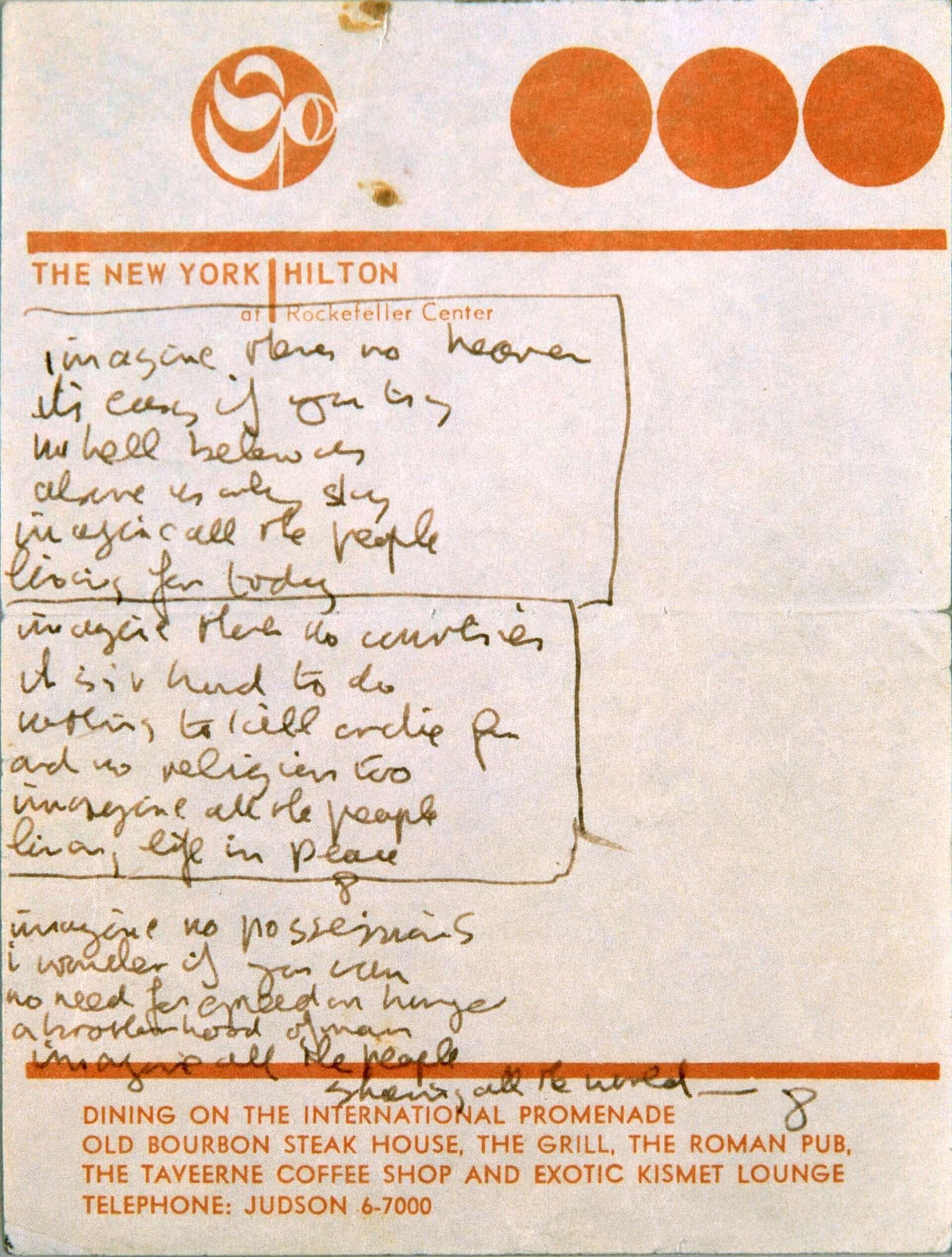 ジョン・レノンとオノ・ヨーコの軌跡を辿る展覧会<DOUBLE FANTASY - John & Yoko>東京展が開催決定!私物など100点以上展示 art200630_doublefantasy_1-1920x2535