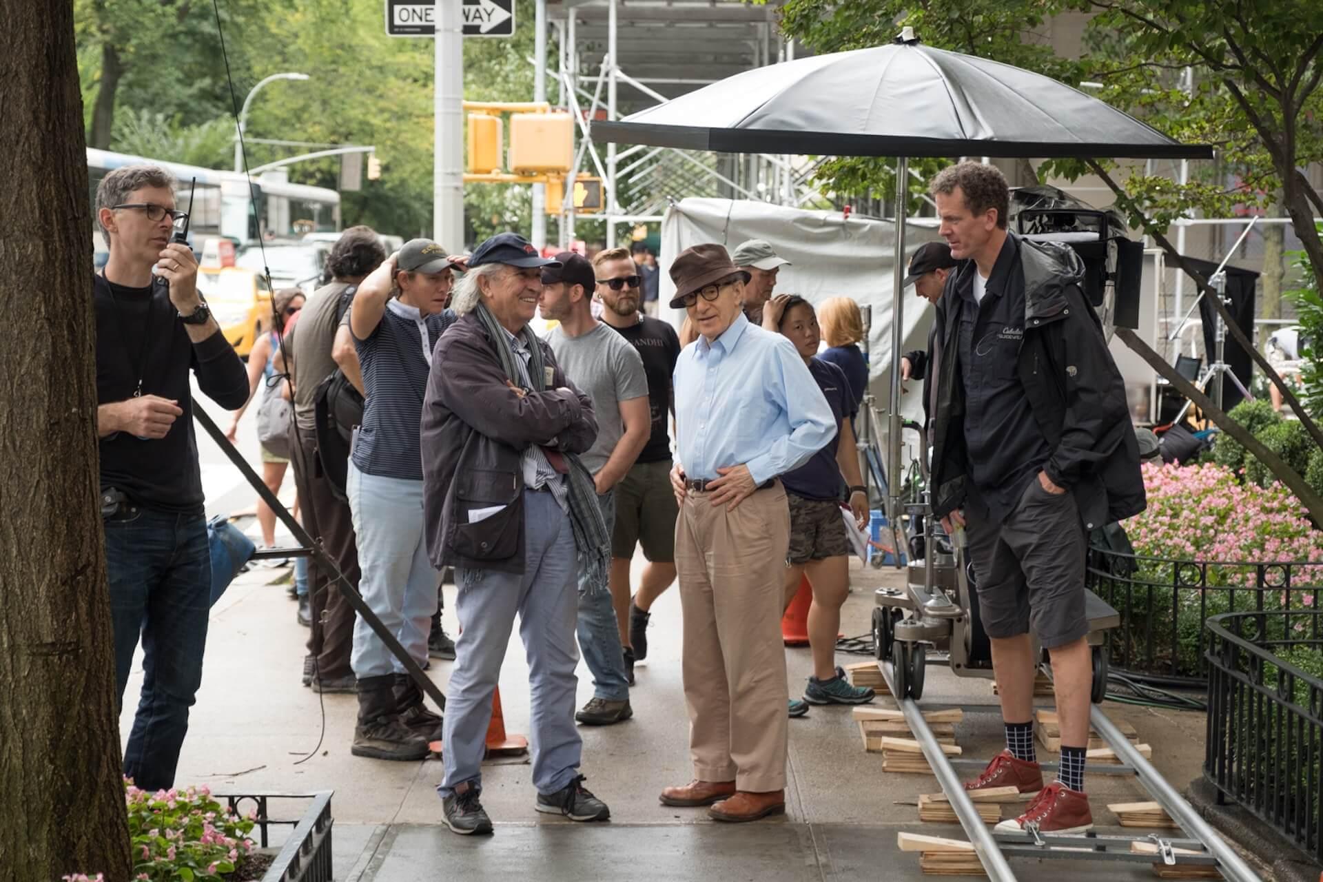 ウディ・アレン「雨は、ロマンスや愛を象徴している」『レイニーデイ・イン・ニューヨーク』監督インタビューが到着! film200701_rainy_day_in_ny_interview_05