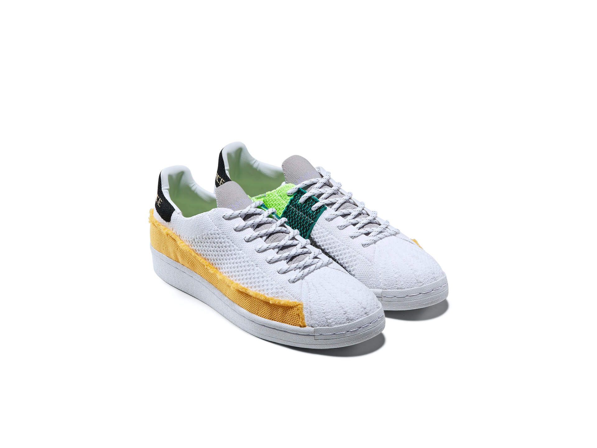 adidas Originalsとファレル・ウィリアムスのコラボ『SUPERSTAR』が登場!パッチワークパネルが目を引くデザイン lf200701_adidasporiginals_pharrelwilliams_01
