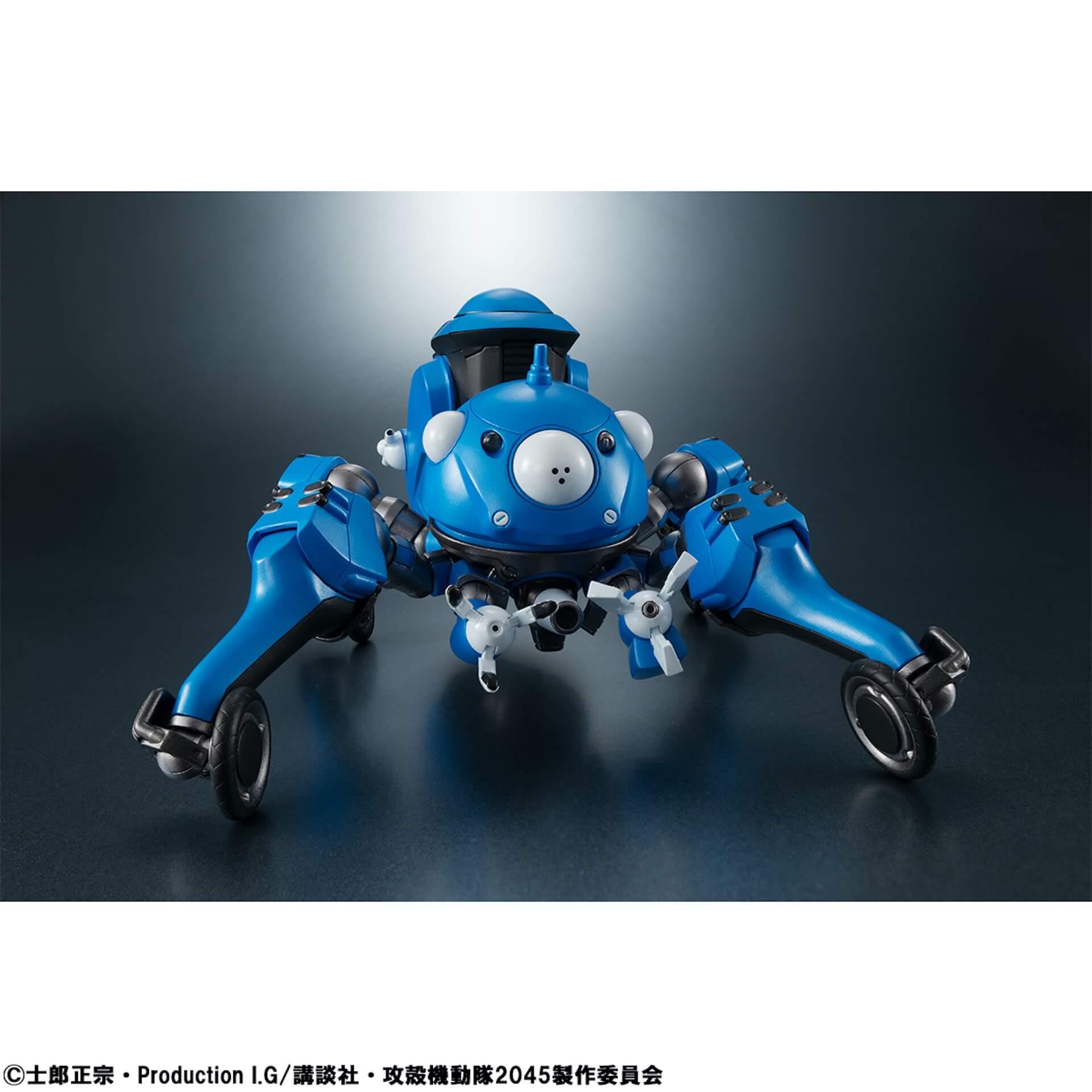 豊富なギミックありの『攻殻機動隊 SAC_2045』タチコマフィギュアがメガハウスから登場!背面ポッドに少佐が搭乗可能 ac200701_tachikoma_figure_04