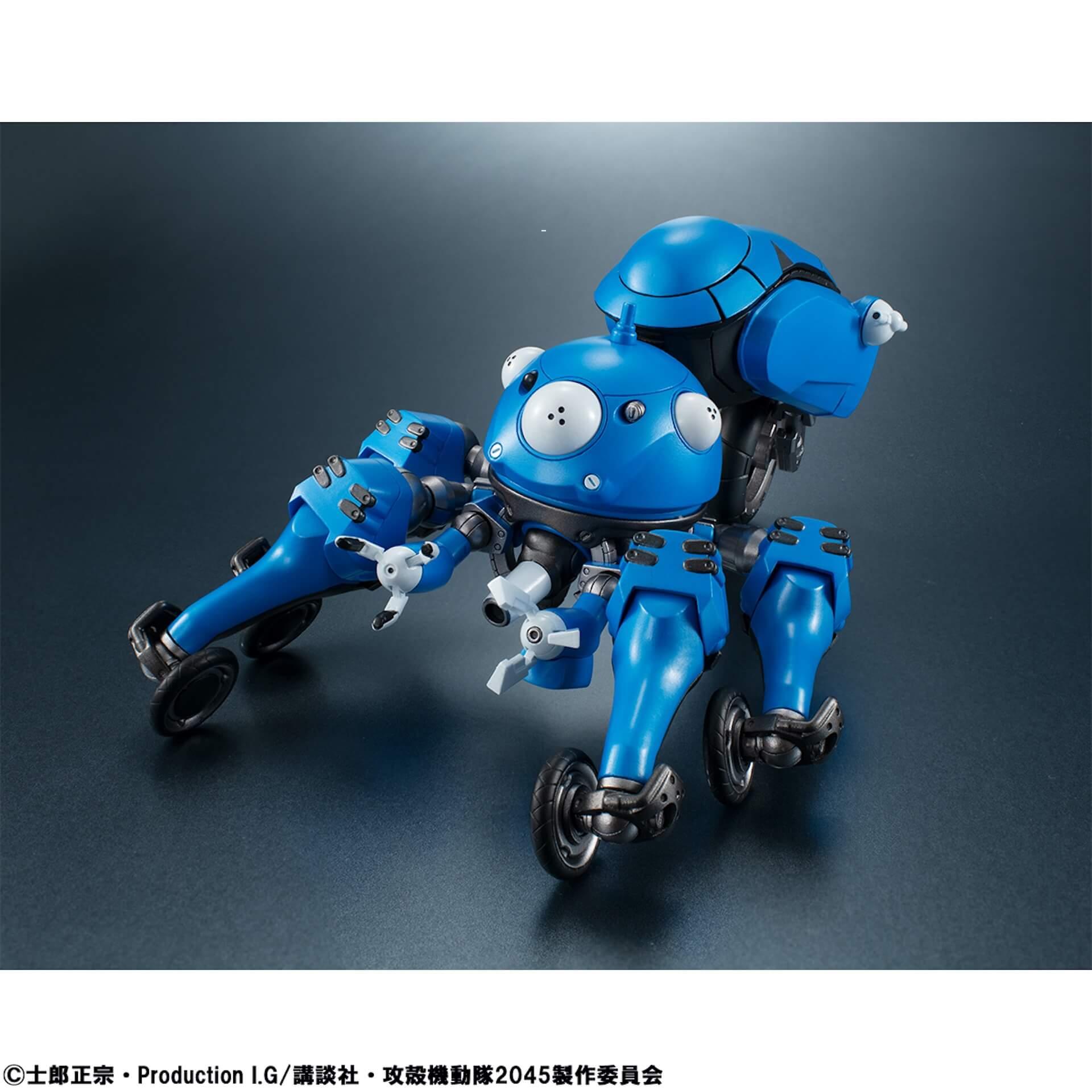 豊富なギミックありの『攻殻機動隊 SAC_2045』タチコマフィギュアがメガハウスから登場!背面ポッドに少佐が搭乗可能 ac200701_tachikoma_figure_06