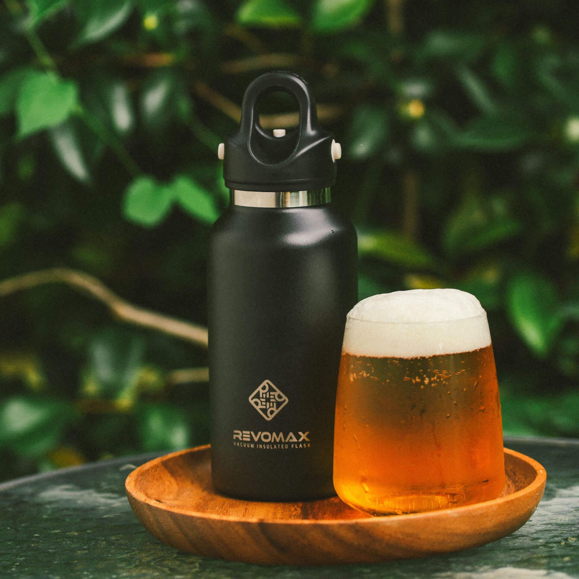 炭酸が入れられるボトル『REVOMAX』で冷えたビールをテイクアウトしよう!全国の量り売り店舗を紹介するmapも公開 gourmet_200701_revomax_beer_03