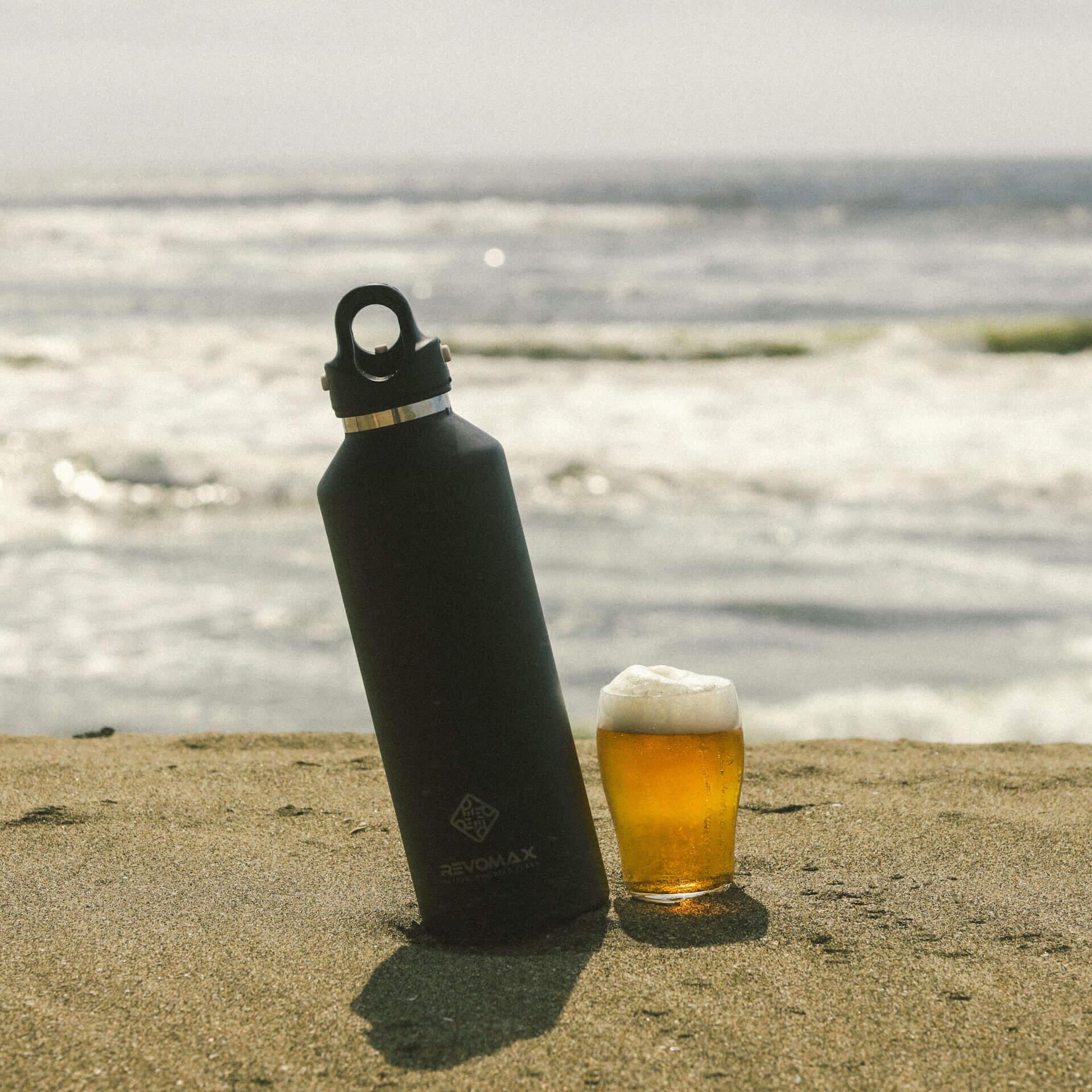 炭酸が入れられるボトル『REVOMAX』で冷えたビールをテイクアウトしよう!全国の量り売り店舗を紹介するmapも公開 gourmet_200701_revomax_beer_04