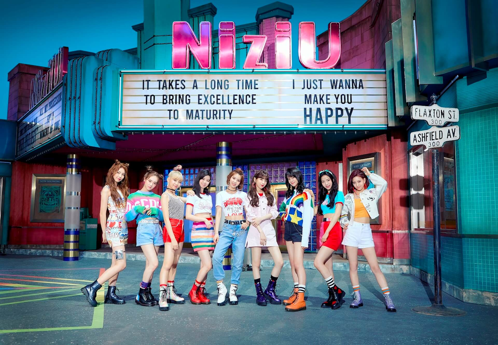 "NiziU初のミュージックビデオ""Make you happy""が公開初日に1,000万回再生を記録!ファンクラブ「WithU」も本日プレオープン music200701_niziu_mv_8"
