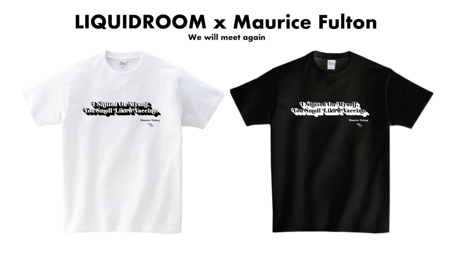 LIQUIDROOMのコラボTプロジェクトにMaurice Fulton、〈TOGA ARCHIVES〉の2組が登場!ニヤリなメッセージに注目です music200702-liquidroom-wwma-1