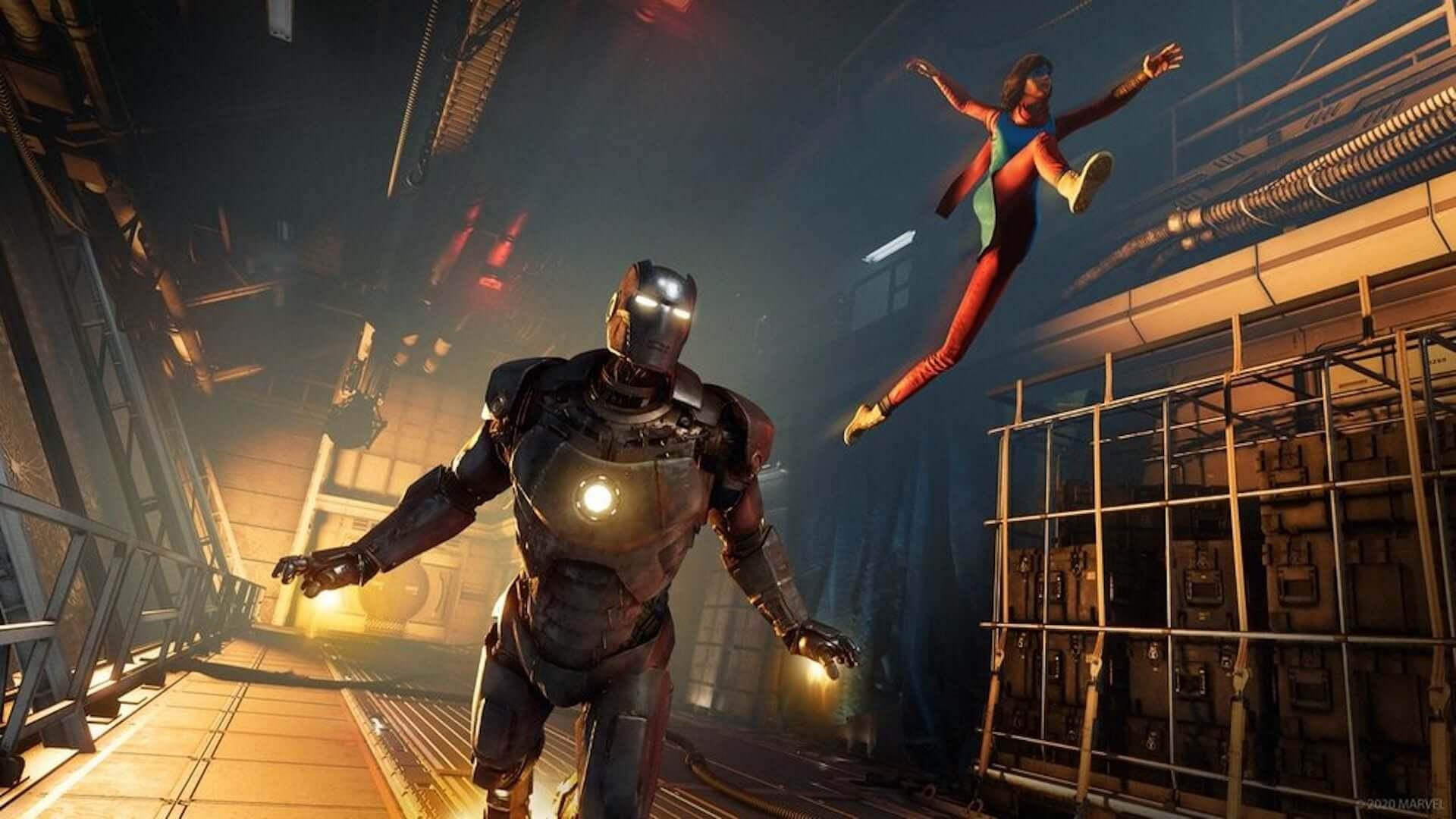 スクウェア・エニックス『Marvel's Avengers』のPlayStation 5/Xbox Series X版が発売決定!PS4/Xbox One版からの無料アップグレードも art200702_avengers_2-1920x1080