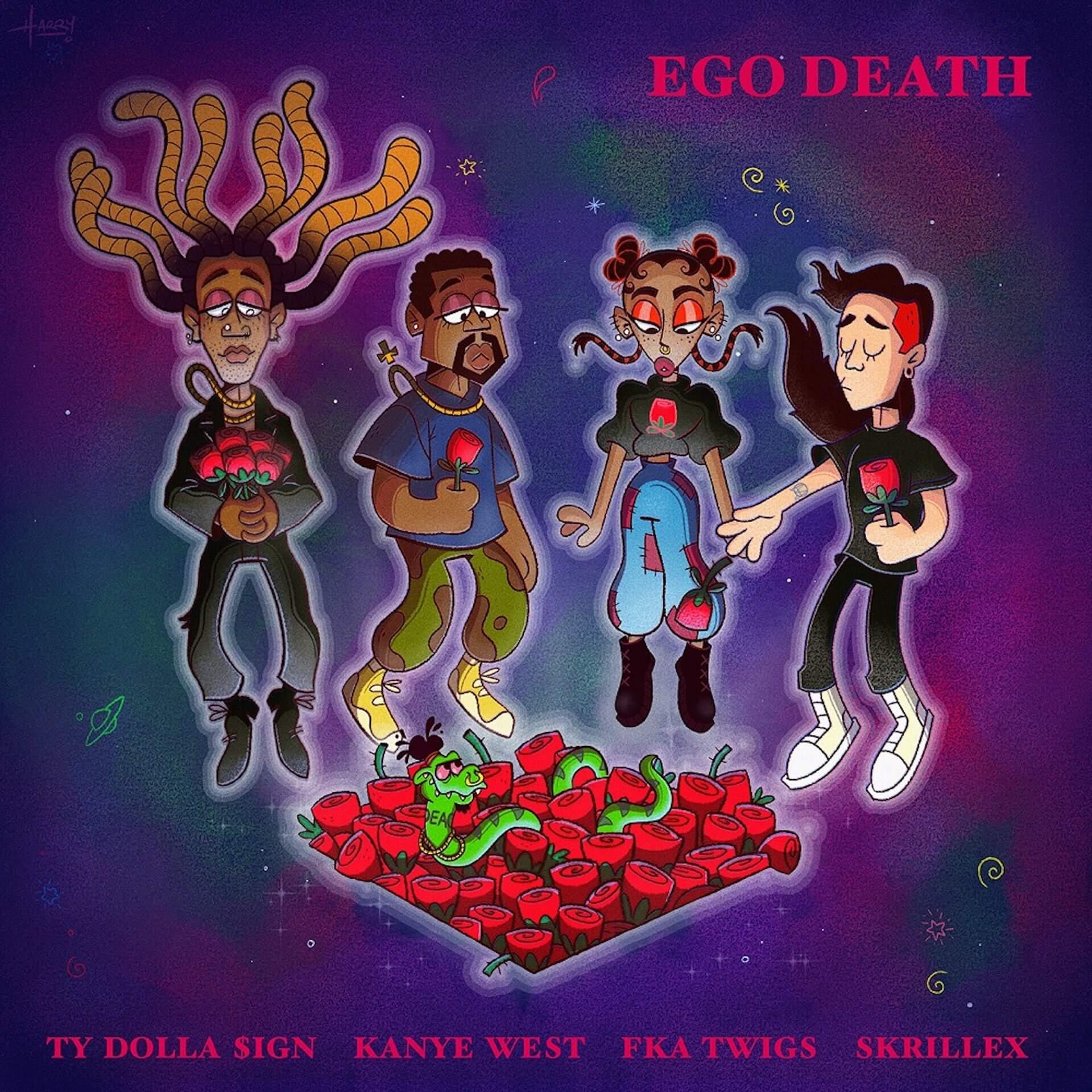 """Ty Dolla $ignが、Kanye West、FKA twigs、Skrillex参加の豪華新曲""""Ego Death""""を配信リリース! music200703_tydollasign_02"""