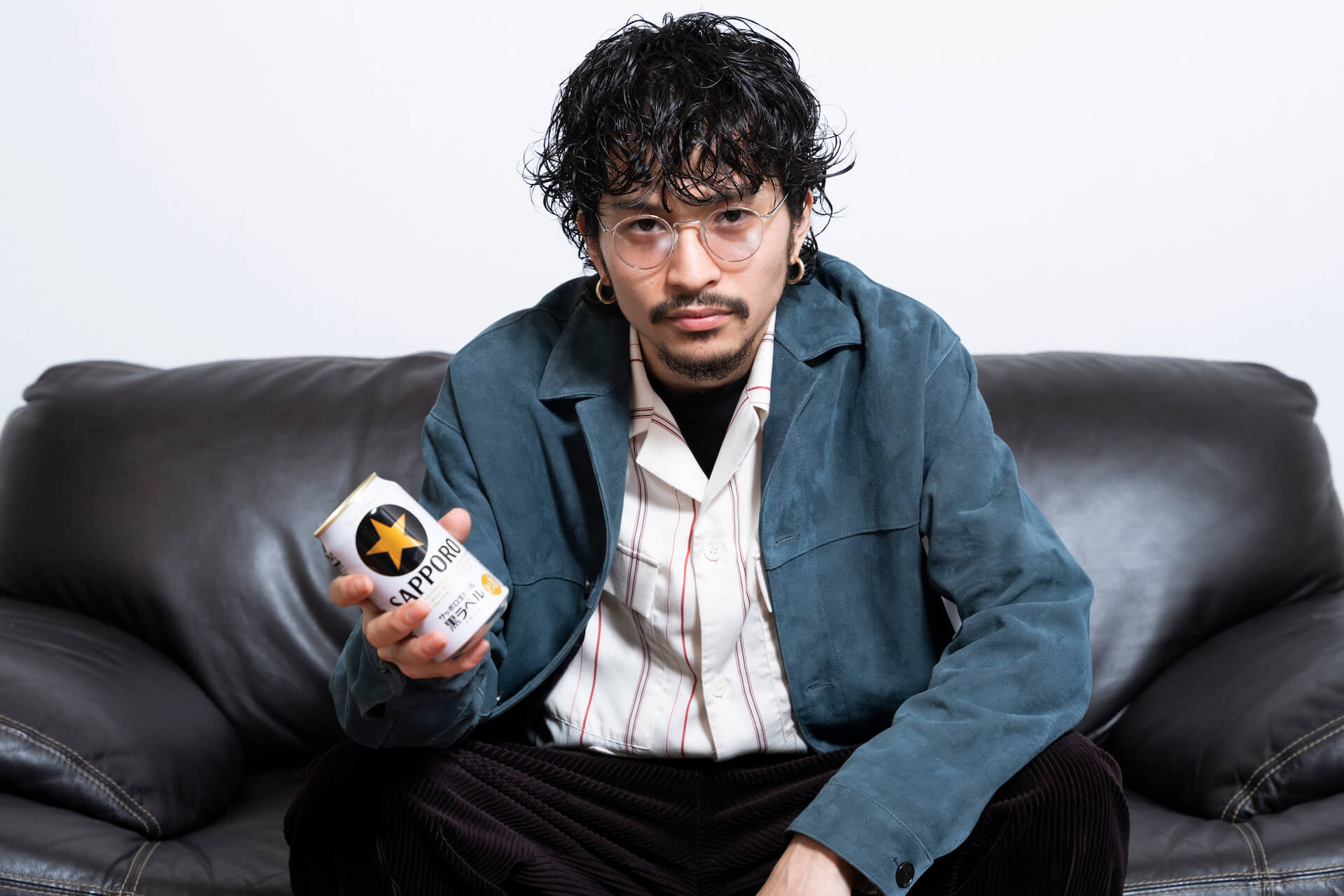 King Gnu常田大希が音楽について語るサッポロビールのCM新バージョンが放映決定!ホームページで特別メッセージムービーも公開 art200707_tsunetadaiki_beer_11