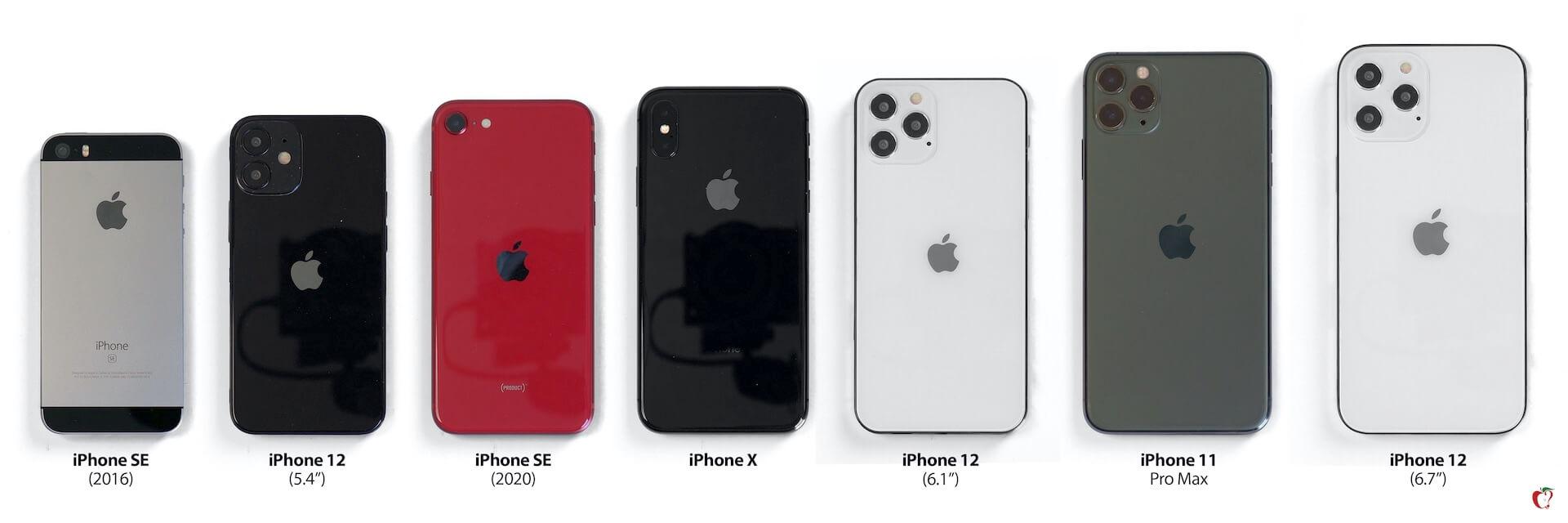 iPhone 12シリーズの全サイズのモックアップと歴代iPhoneをサイズ比較した画像が公開! tech200708_iphone12_mockup_2-1