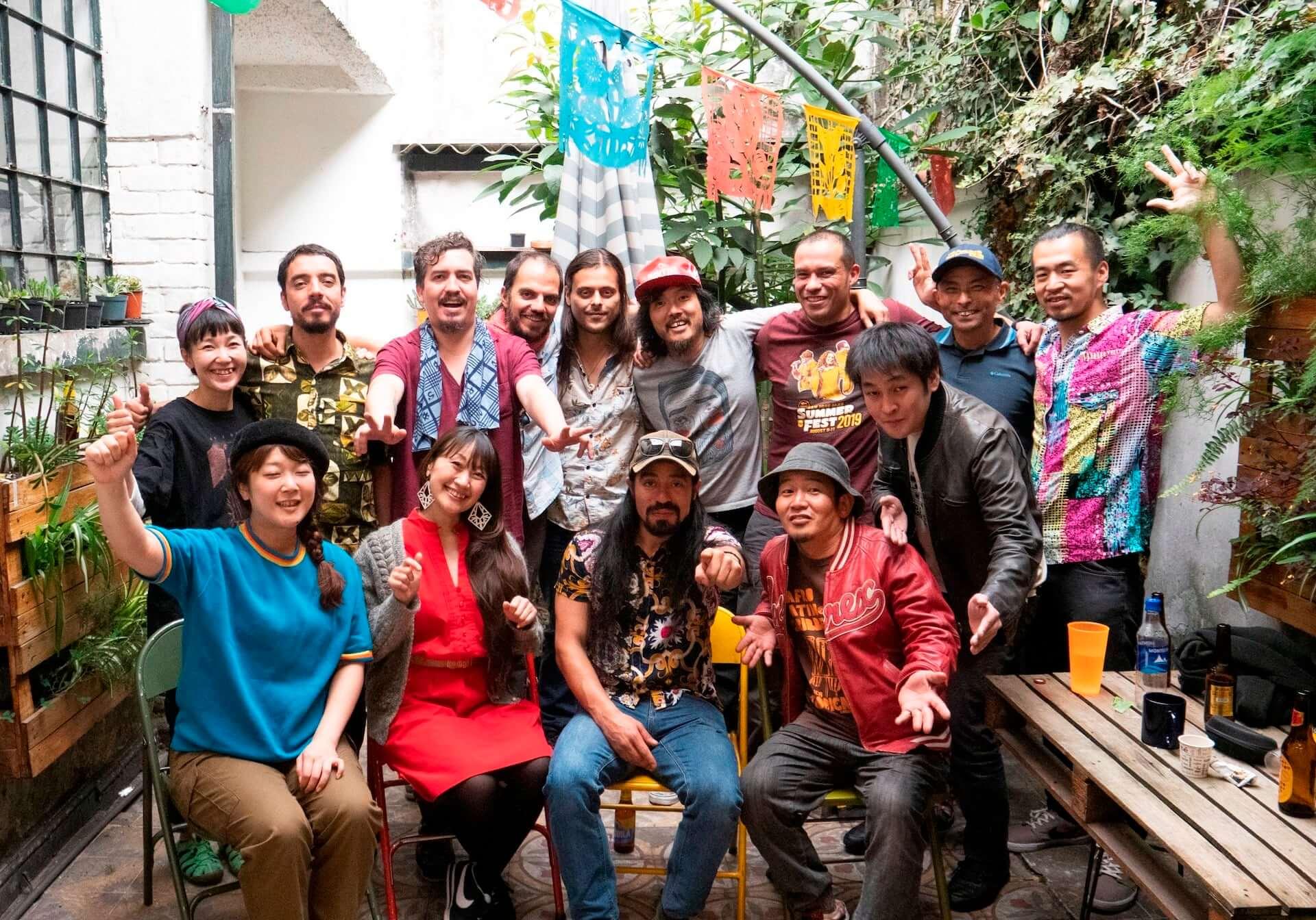 民謡クルセイダーズ&FRENTE CUMBIEROのコラボEPより、日本最古の ...