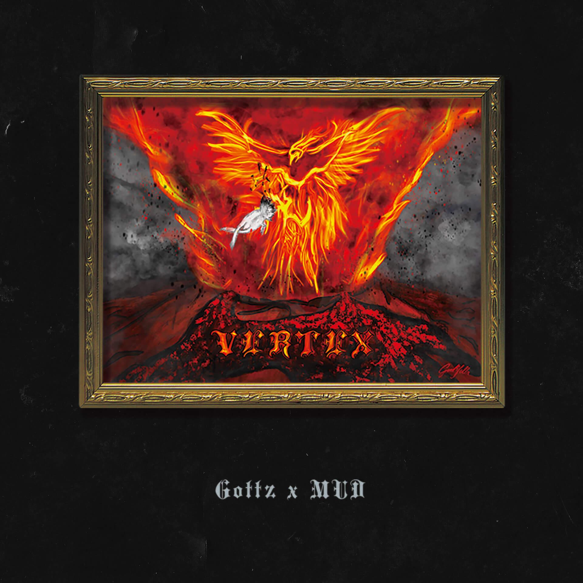 "KANDYTOWNのGottz & MUDによる1stアルバム『VERTEX』がリリース|配信ライブ開催&""Adrenalin""も解禁 music200710_gottz_mud_7"