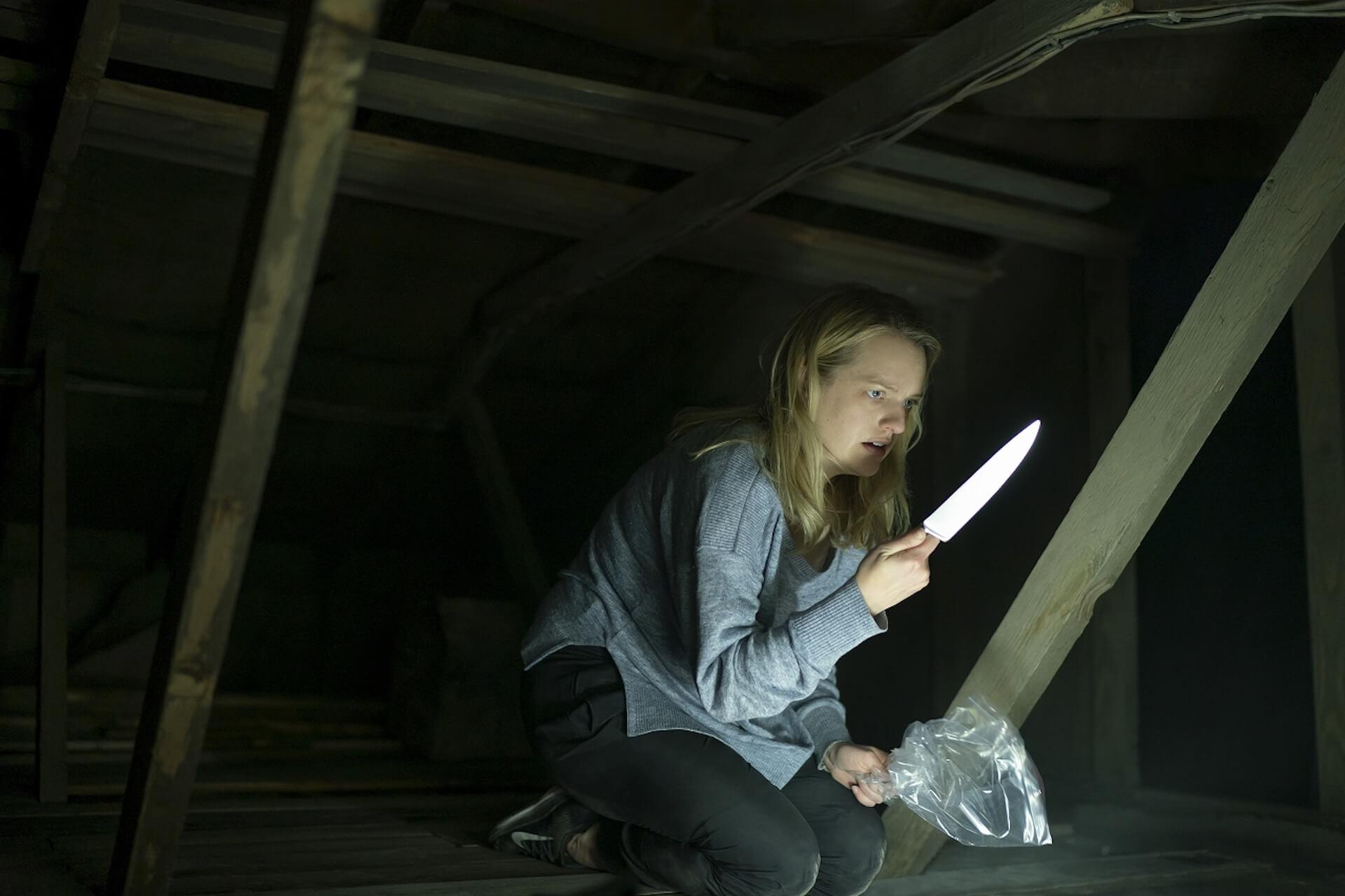 ついに透明人間が襲い来る...『透明人間』エリザベス・モス演じる主人公が見えない恐怖と闘う本編映像が解禁! film200713_invisibleman_4