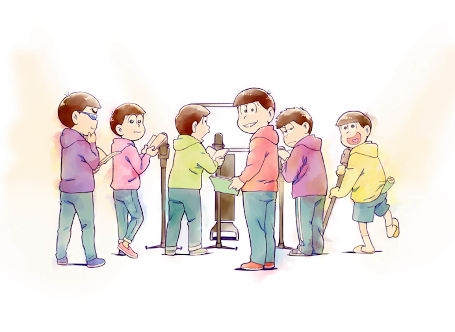 第3期放送決定のアニメ『おそ松さん』の6つ子がファンクラブを開設!?6つ子からユニークなコメントも到着 art200713_osomatsusan_1