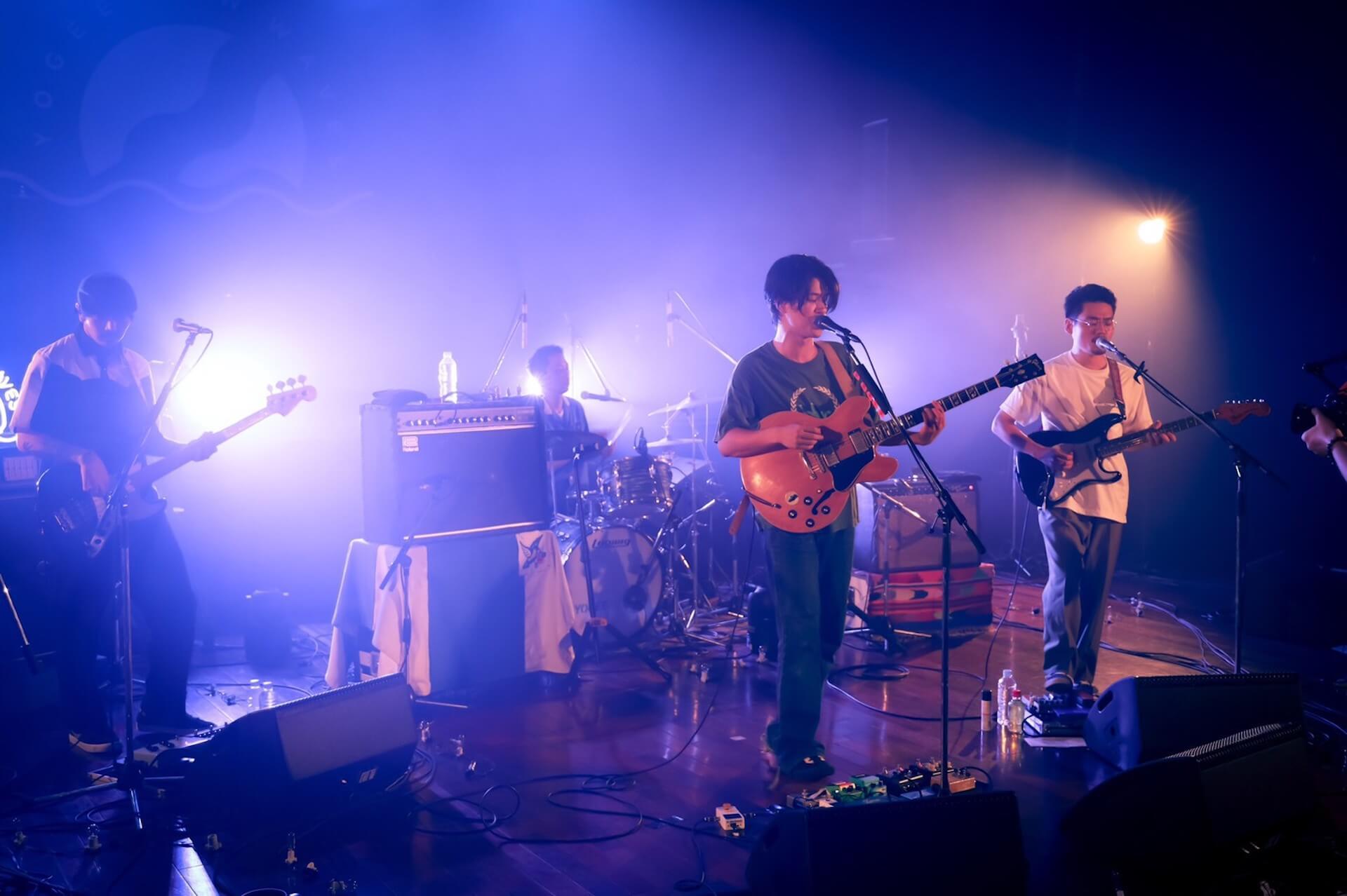 LIVEWIREで配信されたYogee New Wavesのライブ映像が期間限定で見逃し配信中!ライブレポートも到着 music200714_livewire_yogeenewwaves_03