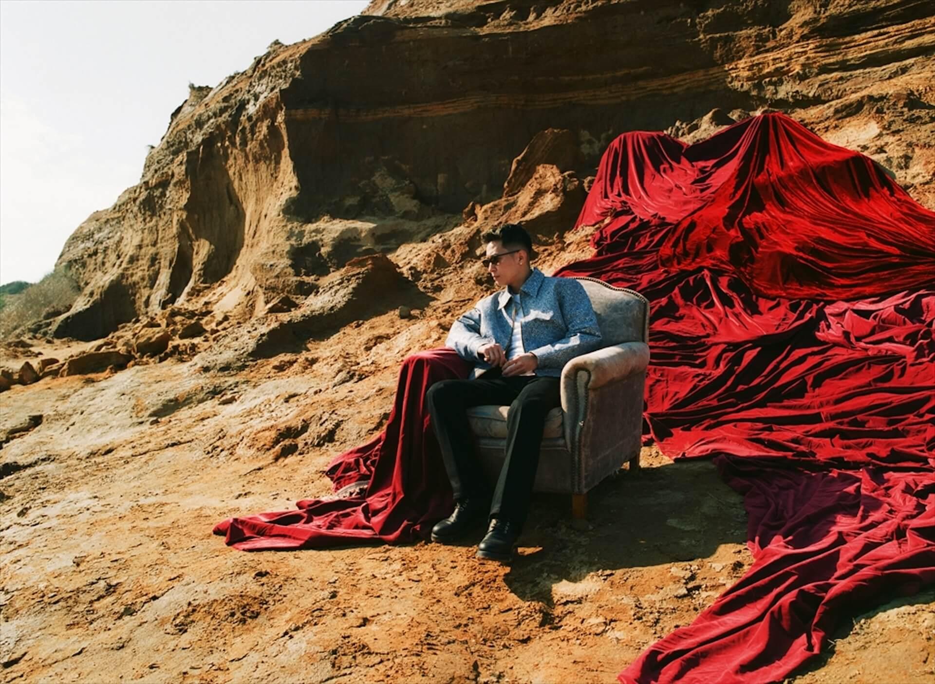 "KANDYTOWN・KEIJUのニューアルバム『T.A.T.O.』収録曲""I Get Lonely""が先行配信スタート フォローキャンペーンも開始 music200715_keiju_2"