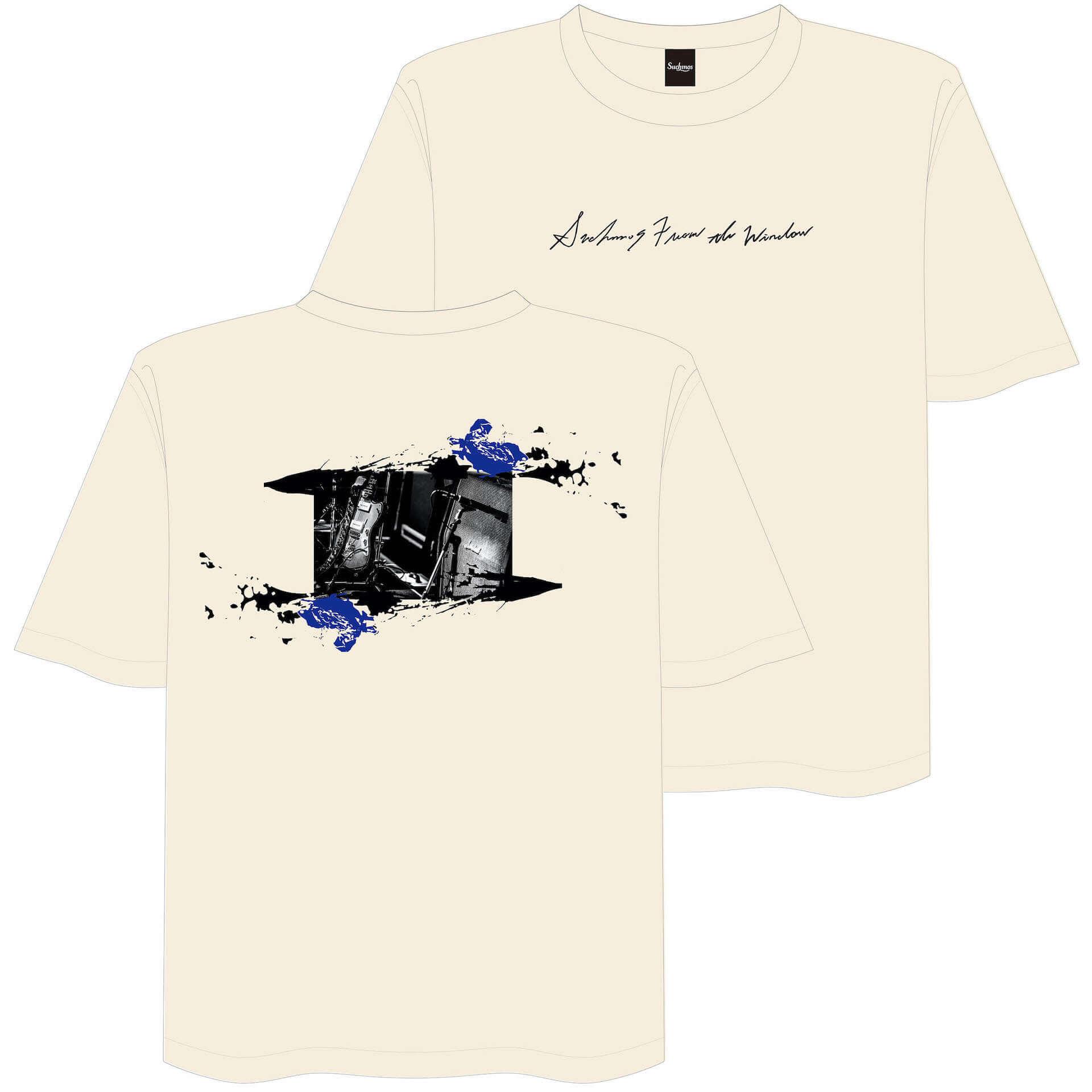 SuchmosのKCEE、TAIHEIがデザインした新作Tシャツが販売決定|LIVEWIRE出演記念&バンド初の受注生産グッズとしてリリース music200715_livewire-suchmos_3-1920x1920