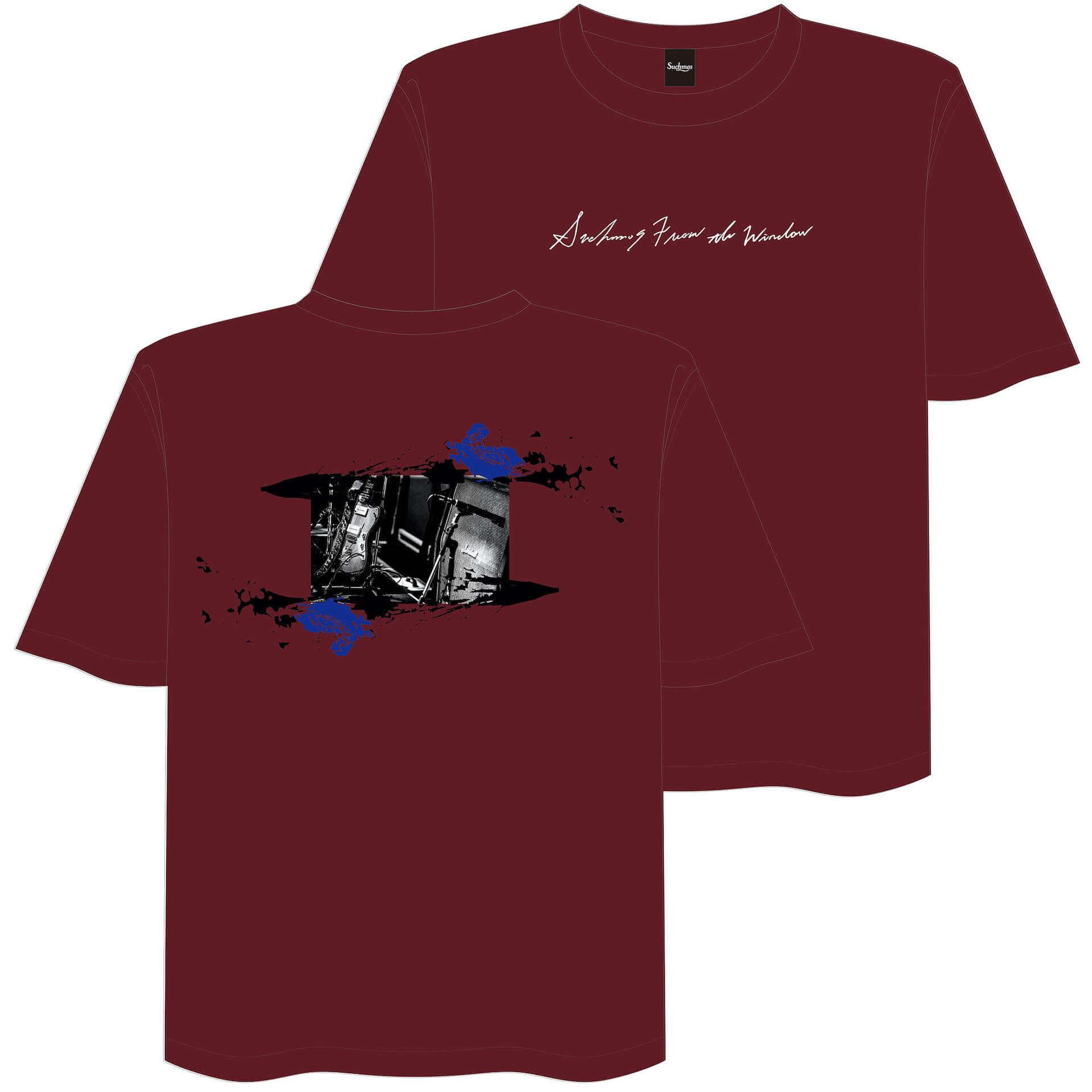 SuchmosのKCEE、TAIHEIがデザインした新作Tシャツが販売決定|LIVEWIRE出演記念&バンド初の受注生産グッズとしてリリース music200715_livewire-suchmos_4-1920x1920