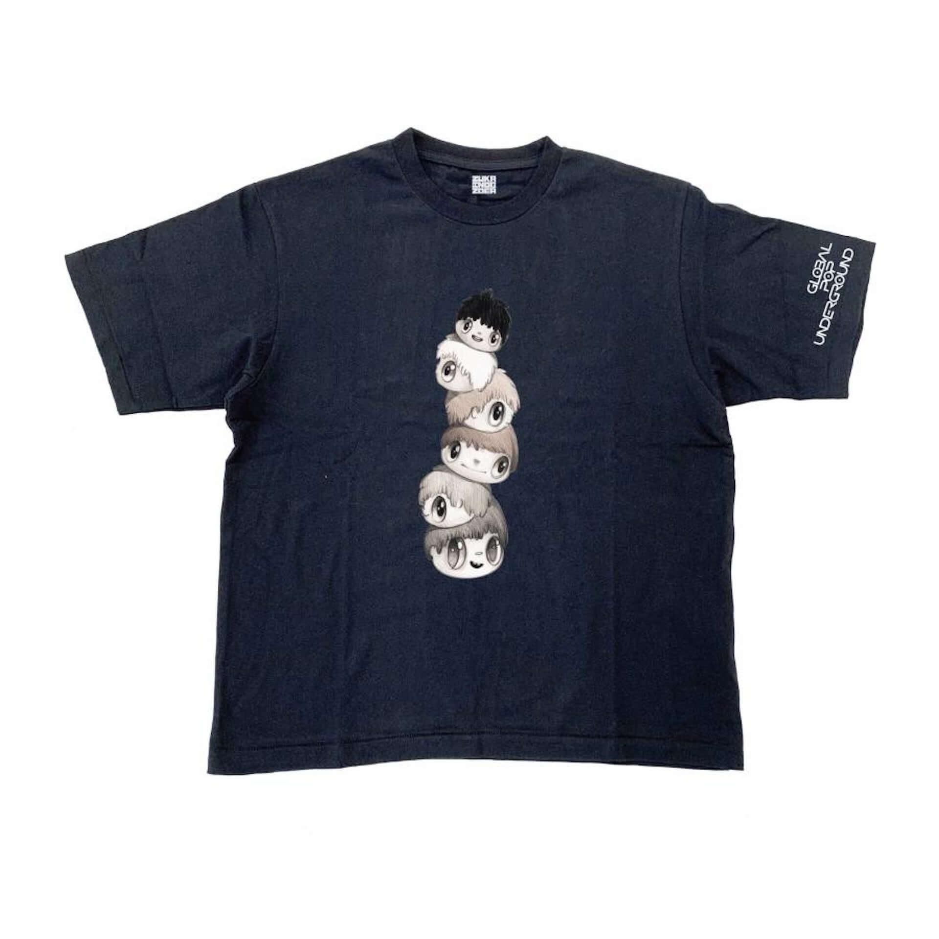 山口はるみ、空山基も参加!NANZUKA<GLOBAL POP UNDERGROUND>の限定Tシャツがリリース|オンライン展示も開始 art200715_parco_gpu_3-1920x1920
