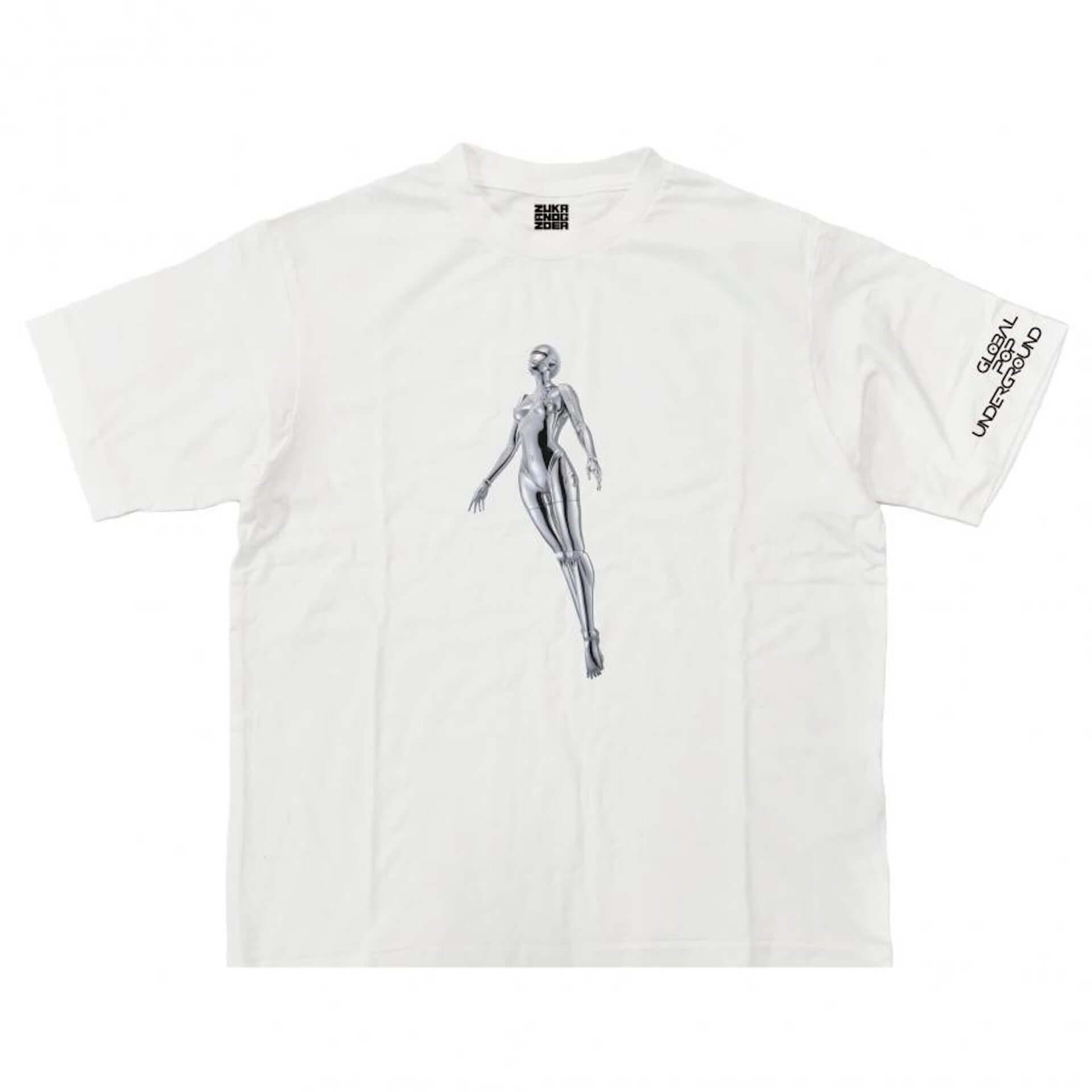 山口はるみ、空山基も参加!NANZUKA<GLOBAL POP UNDERGROUND>の限定Tシャツがリリース|オンライン展示も開始 art200715_parco_gpu_8-1920x1920
