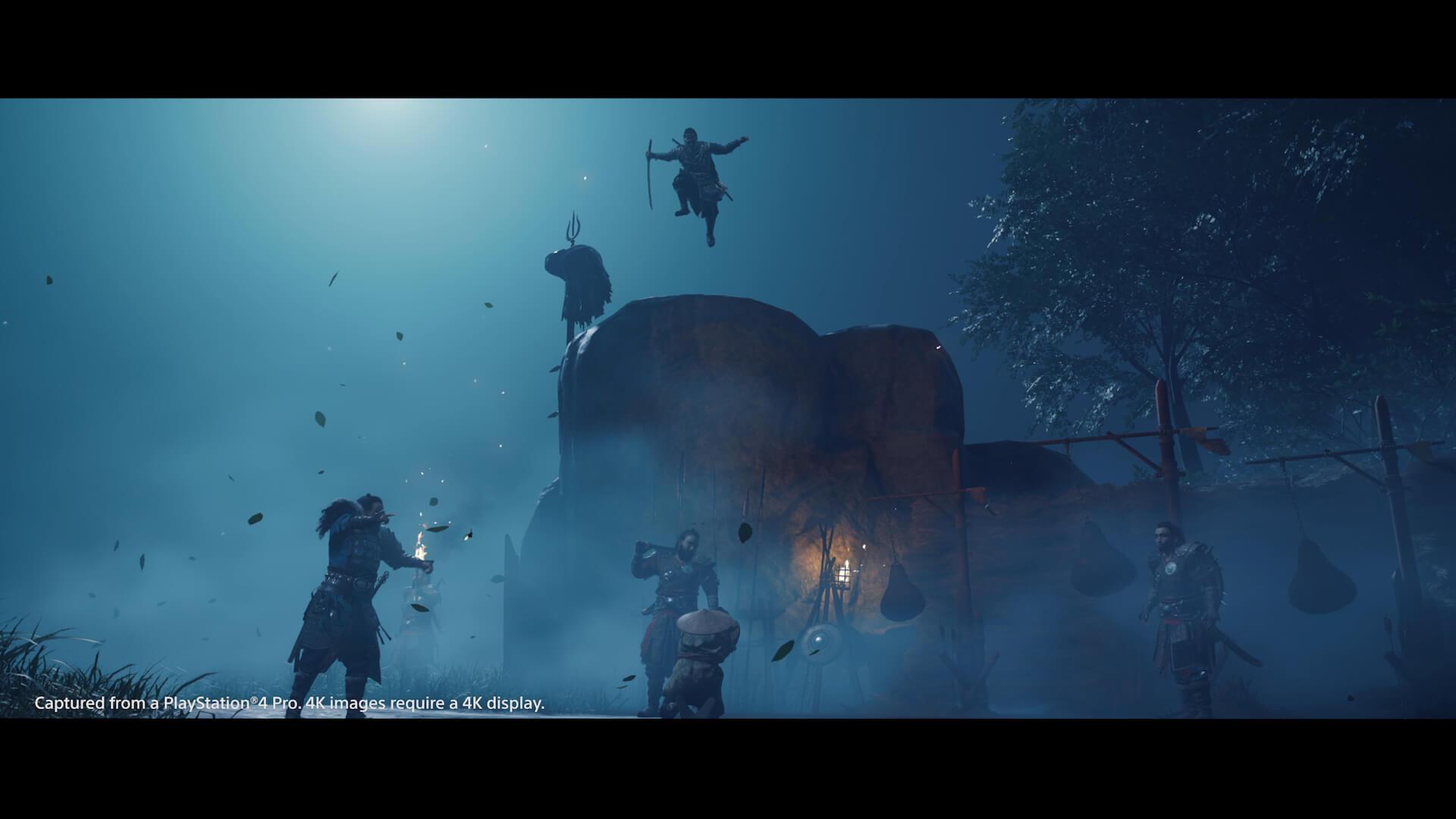 新感覚のオープンワールド時代劇を体感せよ!PS4専用ソフト『Ghost of Tsushima』がついに本日発売 tech200717_ghostoftsushima_16
