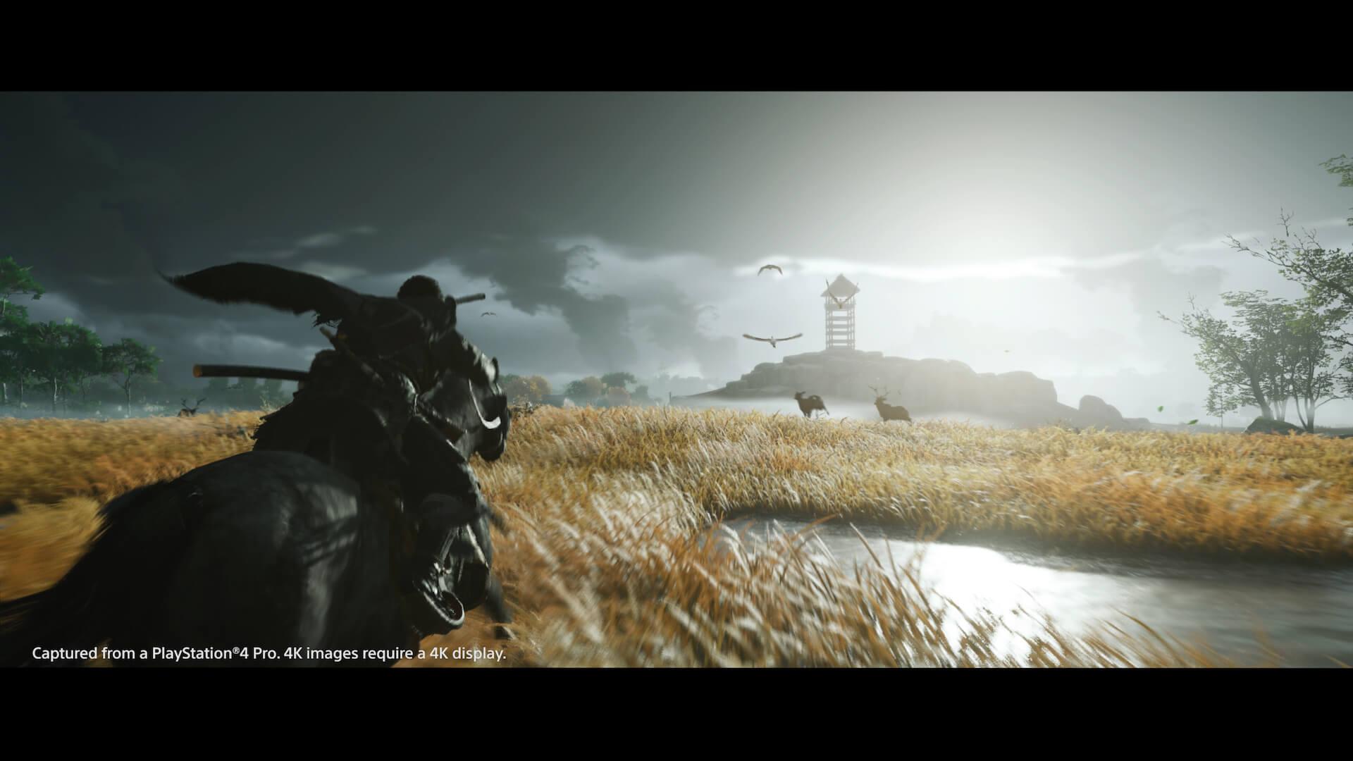新感覚のオープンワールド時代劇を体感せよ!PS4専用ソフト『Ghost of Tsushima』がついに本日発売 tech200717_ghostoftsushima_20
