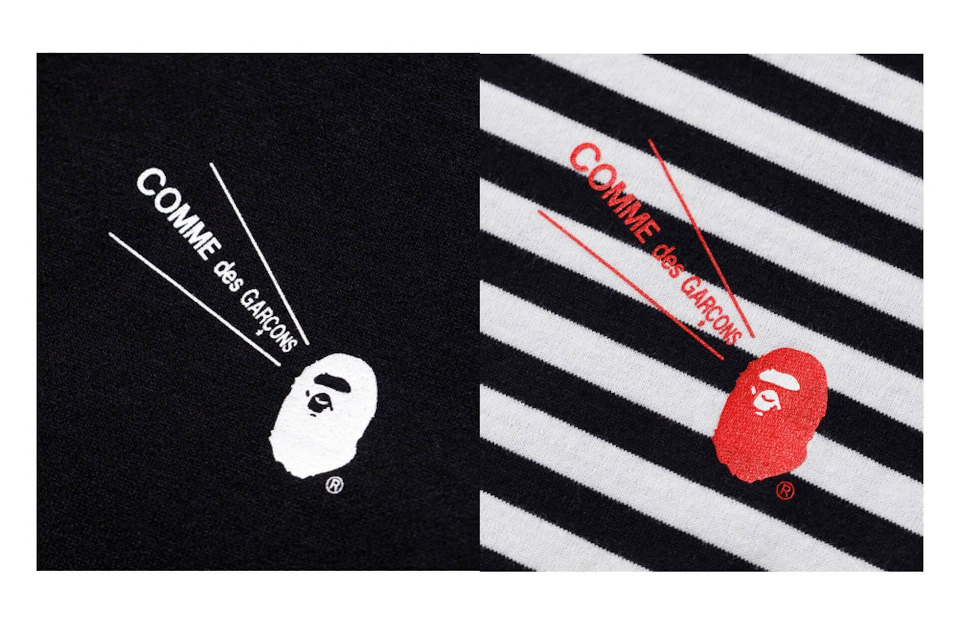 A BATHING APEとCOMME des GARCONSのコラボTシャツやフーディがBAPE STOREコムデギャルソン大阪限定でリリース! lf200720_bape_garcons_09