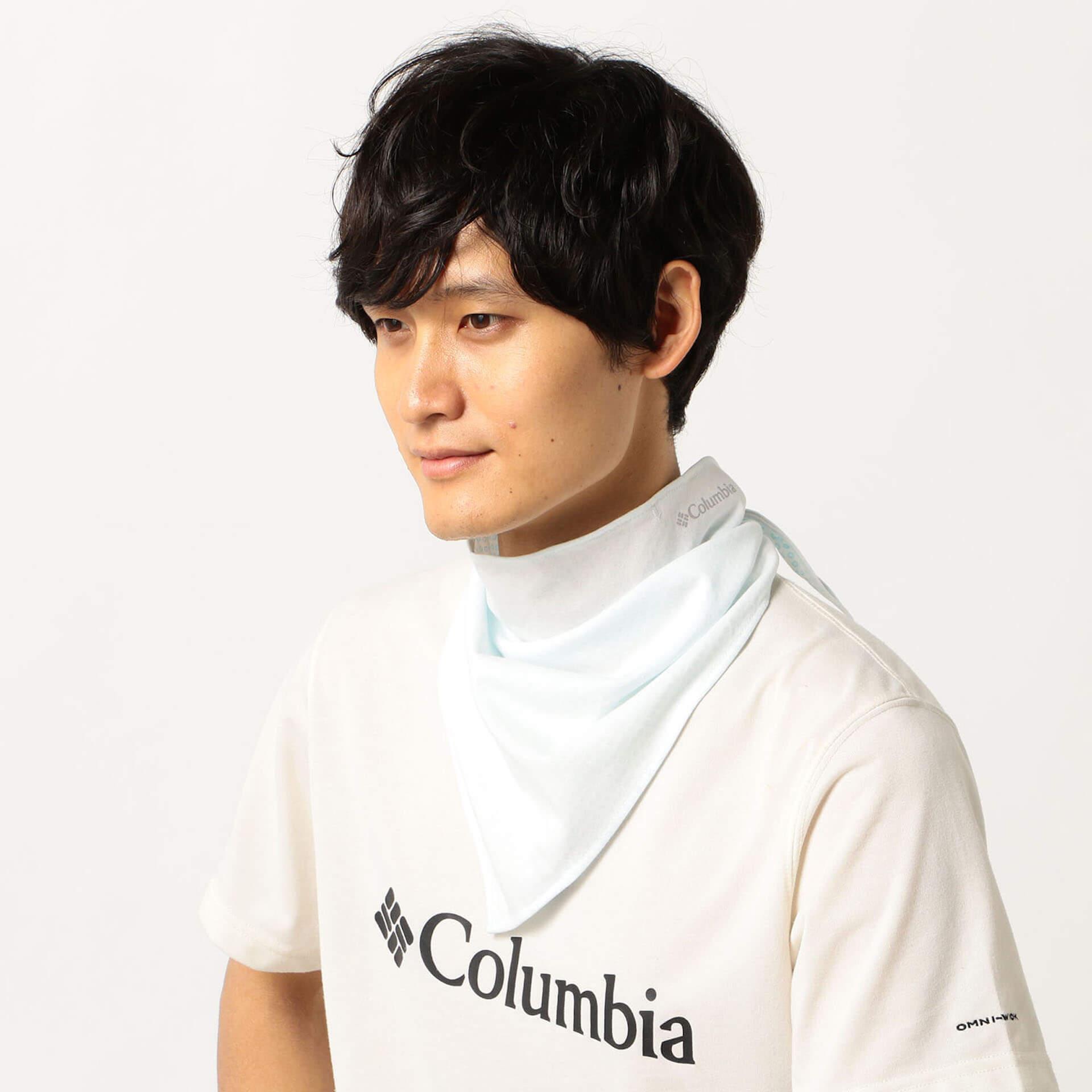 Columbiaからマスクがわりにも最適なネックガード2種が発売決定!汗が冷却効果をもたらす「オムニフリーズゼロ」搭載 life200721_columbia_mask_5