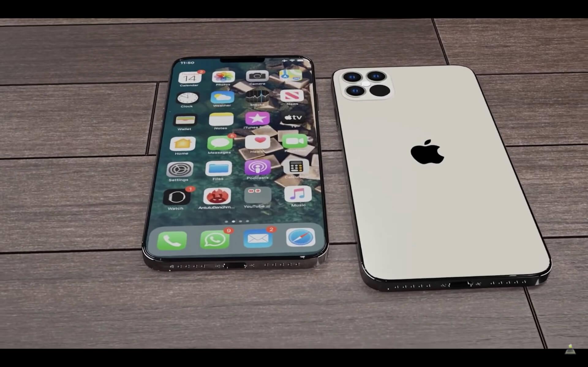 iPhone 12シリーズの新たなコンセプト映像が公開!豊富なカラーバリエーションに注目 tech200722_iphone12_2