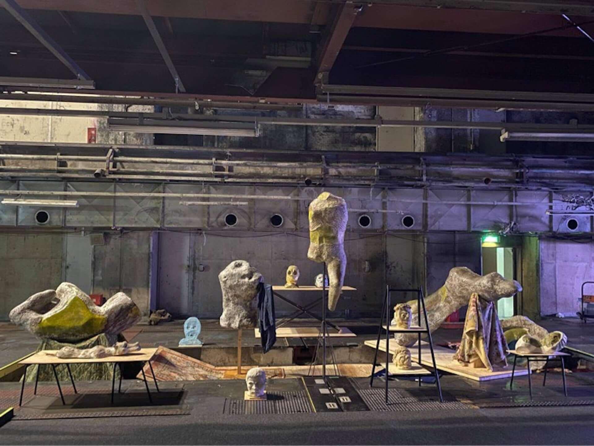京都、奈良を拠点とする東慎也、米村優人の作品展<神の左手 悪魔の右手>が渋谷EUKARYOTEにて開催! art200722_eukaryote_6-1920x1441