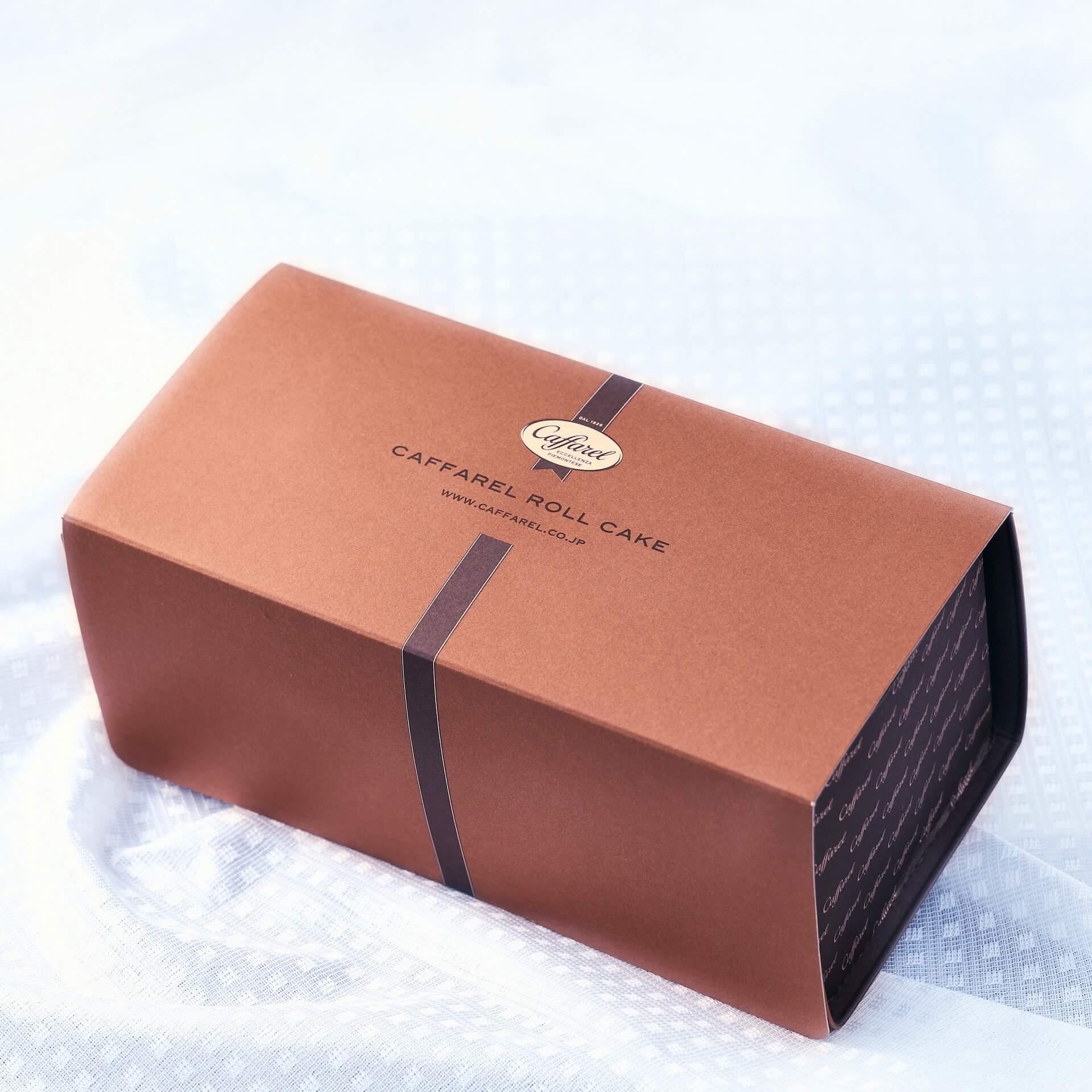 チョコアイスのような食感も楽しめるカファレルの『ジャンドゥーヤロールケーキ』がオンラインで期間・数量限定で登場! gourmet200624_caffarel_rollcake_05