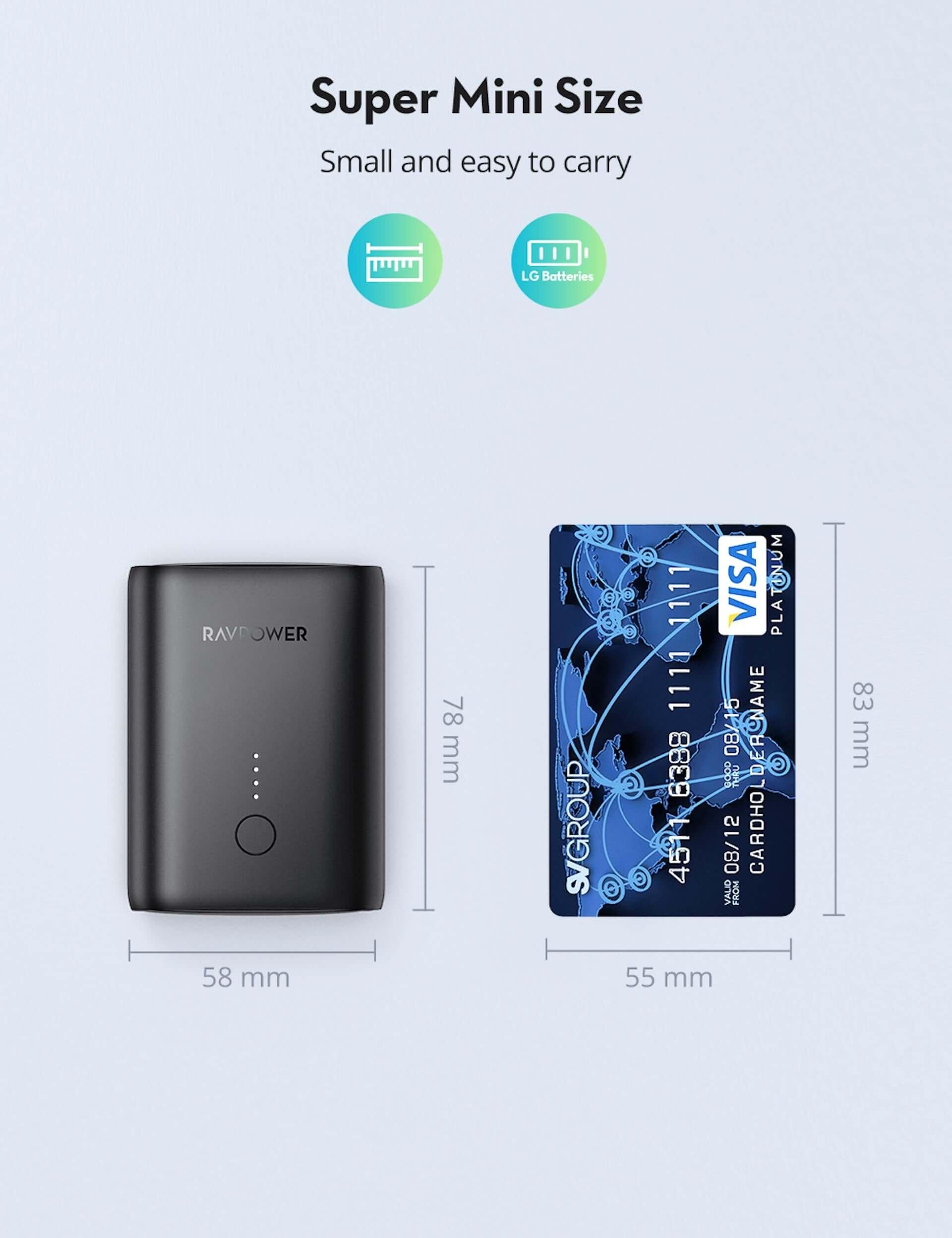 10000mAhの大容量モバイルバッテリーがRAVPowerから発売中!名刺入れやカードよりも小さいサイズ tech200727_ravpower_04-1920x2496