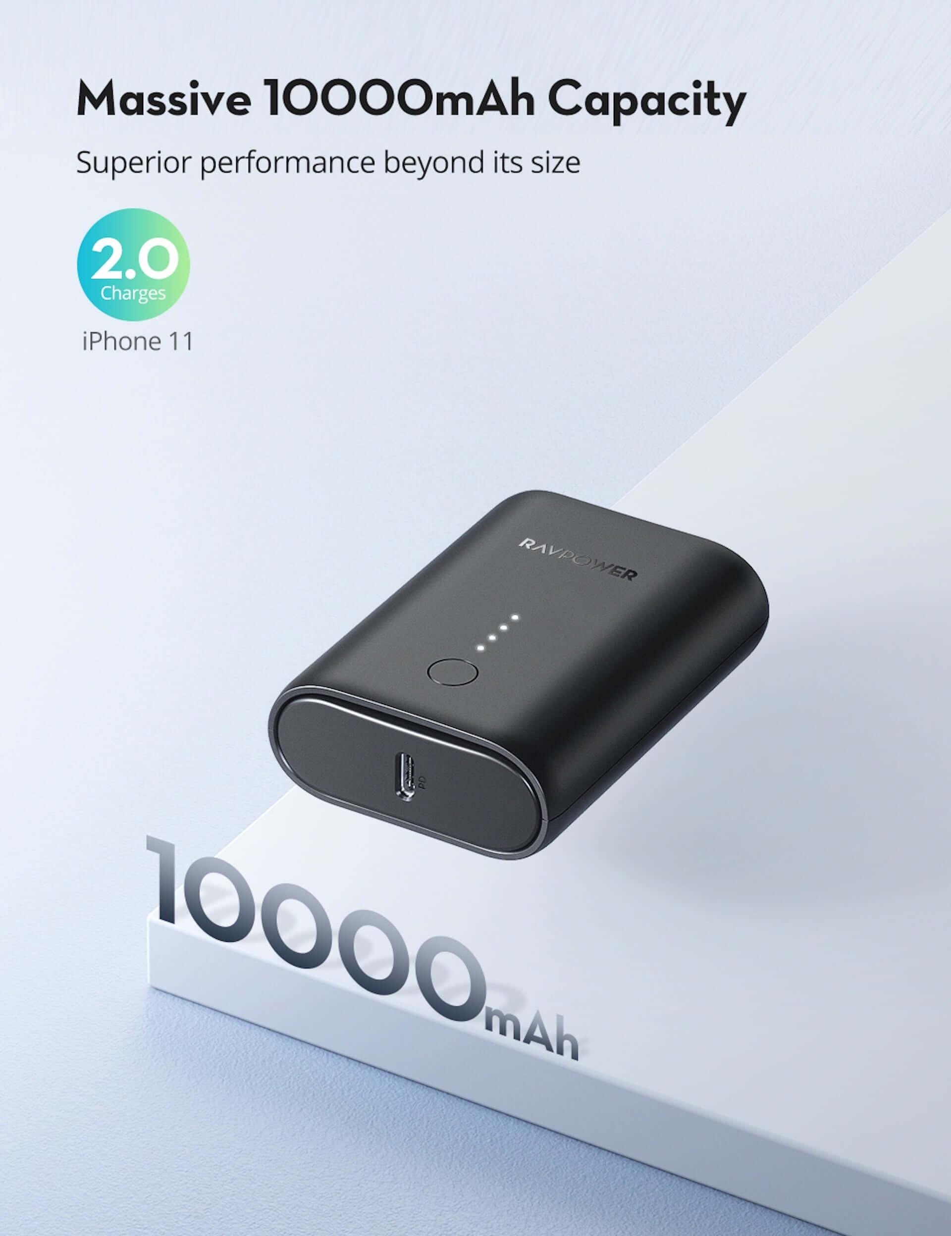 10000mAhの大容量モバイルバッテリーがRAVPowerから発売中!名刺入れやカードよりも小さいサイズ tech200727_ravpower_05-1920x2496