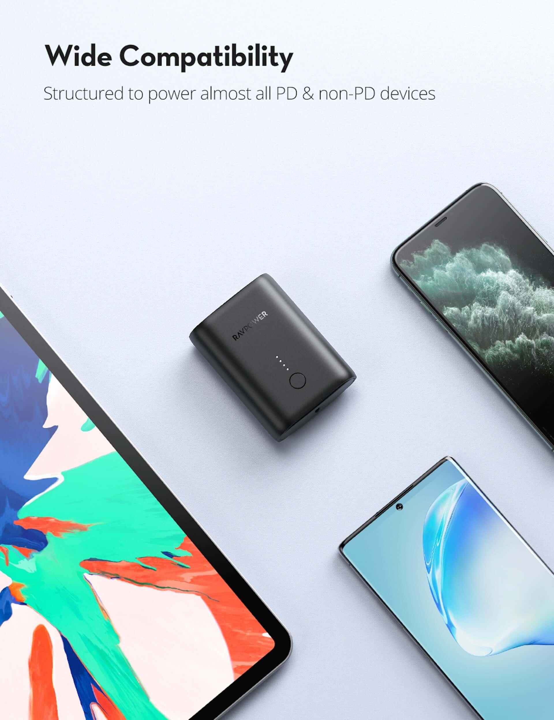 10000mAhの大容量モバイルバッテリーがRAVPowerから発売中!名刺入れやカードよりも小さいサイズ tech200727_ravpower_07-1920x2496