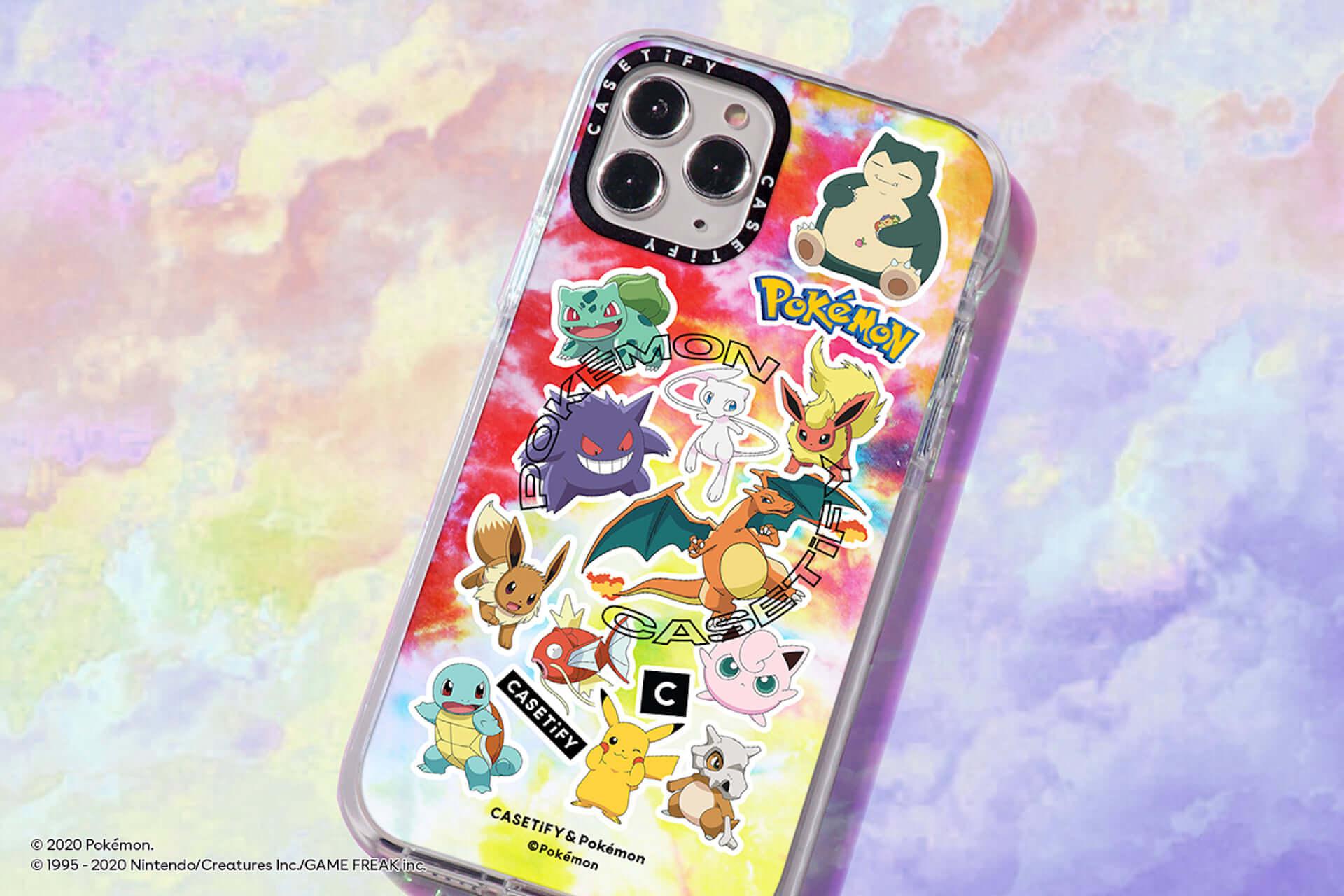 CASETiFYとポケモンの再タッグが実現!新コレクション第1弾にiPhoneケース、ワイヤレスチャージャー等が発売決定 tech200727_casetify-pokemon_7-1920x1280