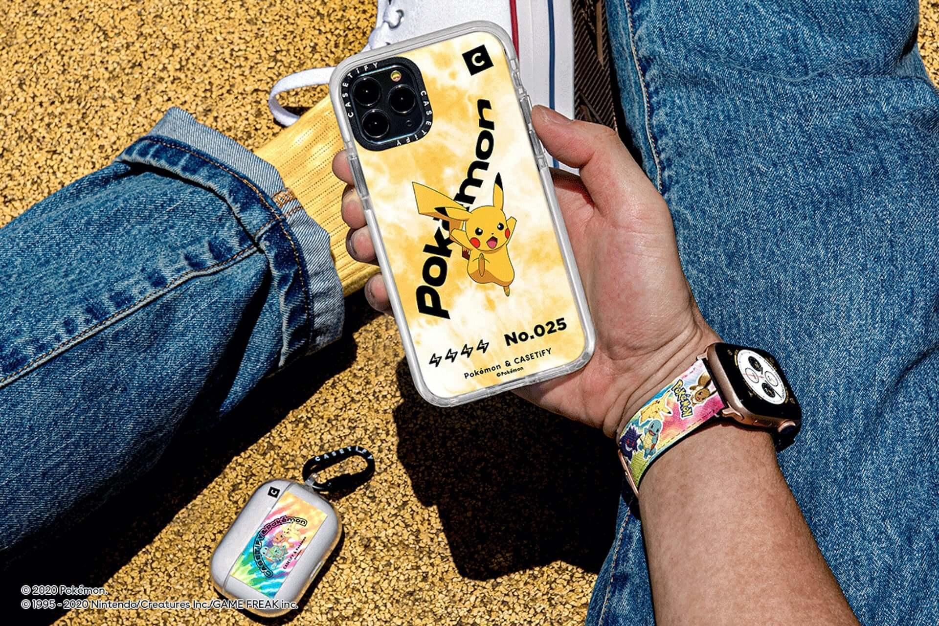 CASETiFYとポケモンの再タッグが実現!新コレクション第1弾にiPhoneケース、ワイヤレスチャージャー等が発売決定 tech200727_casetify-pokemon_10-1920x1280