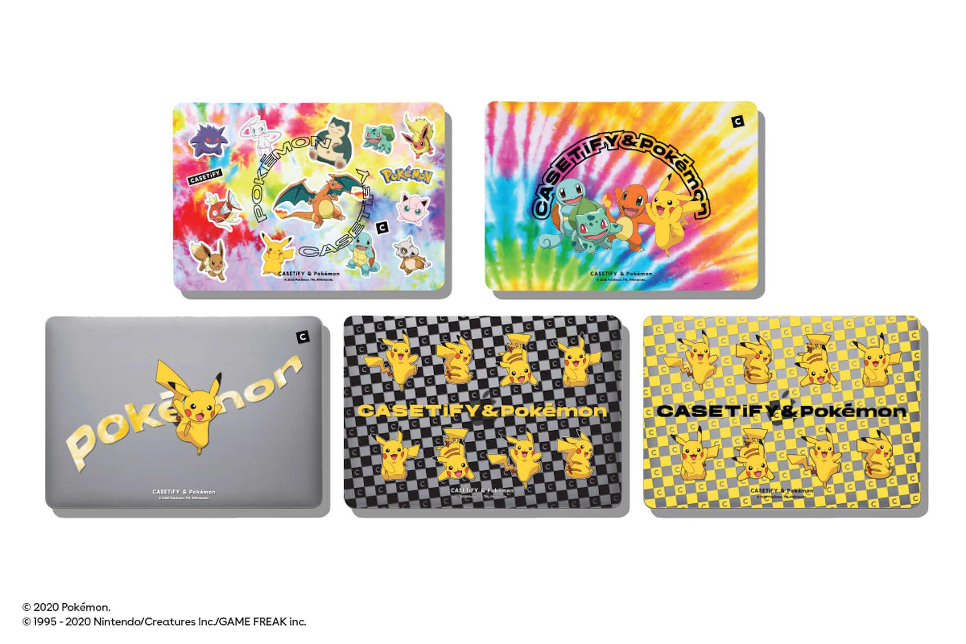 CASETiFYとポケモンの再タッグが実現!新コレクション第1弾にiPhoneケース、ワイヤレスチャージャー等が発売決定 tech200727_casetify-pokemon_11-1920x1280
