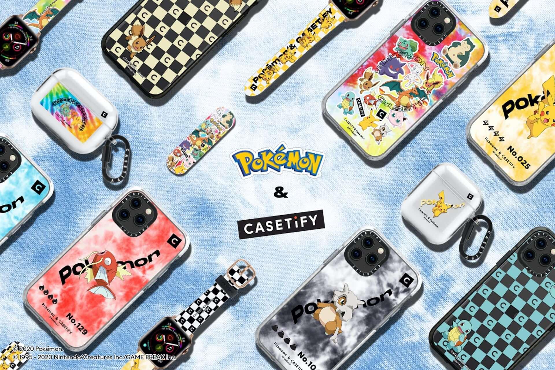 CASETiFYとポケモンの再タッグが実現!新コレクション第1弾にiPhoneケース、ワイヤレスチャージャー等が発売決定 tech200727_casetify-pokemon_12-1920x1280
