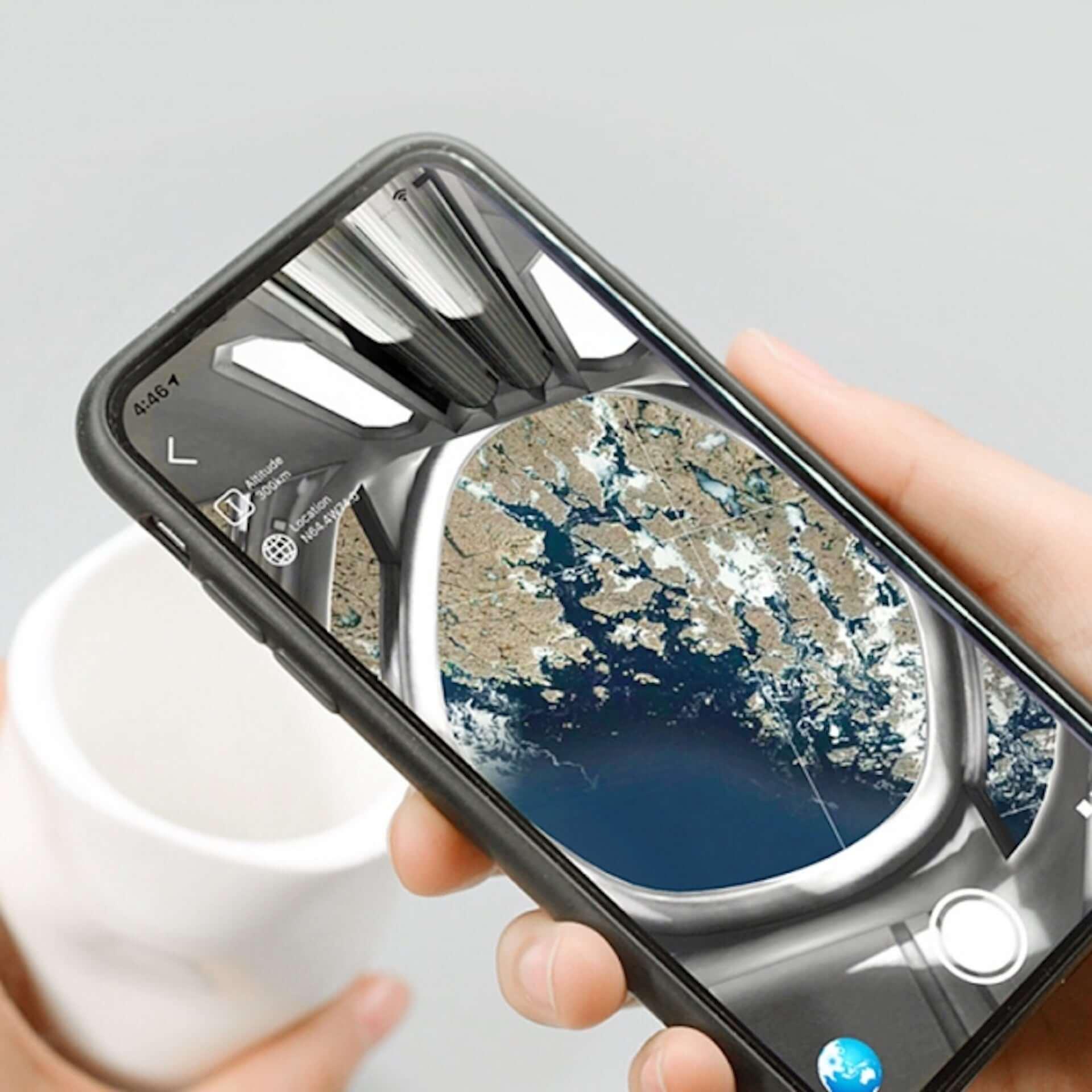 NASA公認&設立60周年記念のARマグカップ!宇宙船からの眺めを体験できる『Space Mug』がGLOTURE.JPに再入荷 tech200729_gloture_1-1920x1920
