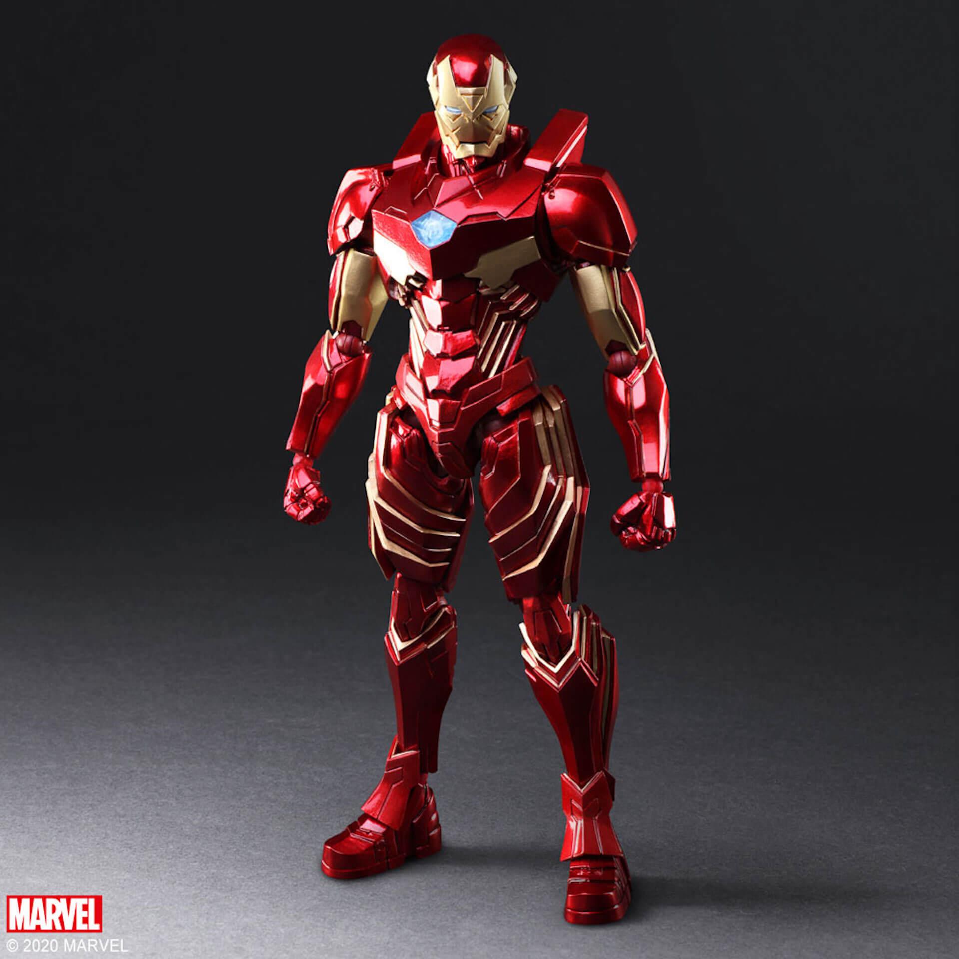 野村哲也デザインの『アイアンマン』『キャプテン・アメリカ』『スパイダーマン』フィギュアがスクウェア・エニックスのオンラインサイトで予約受付中! ac200702_marvel_nomuratesuya_01