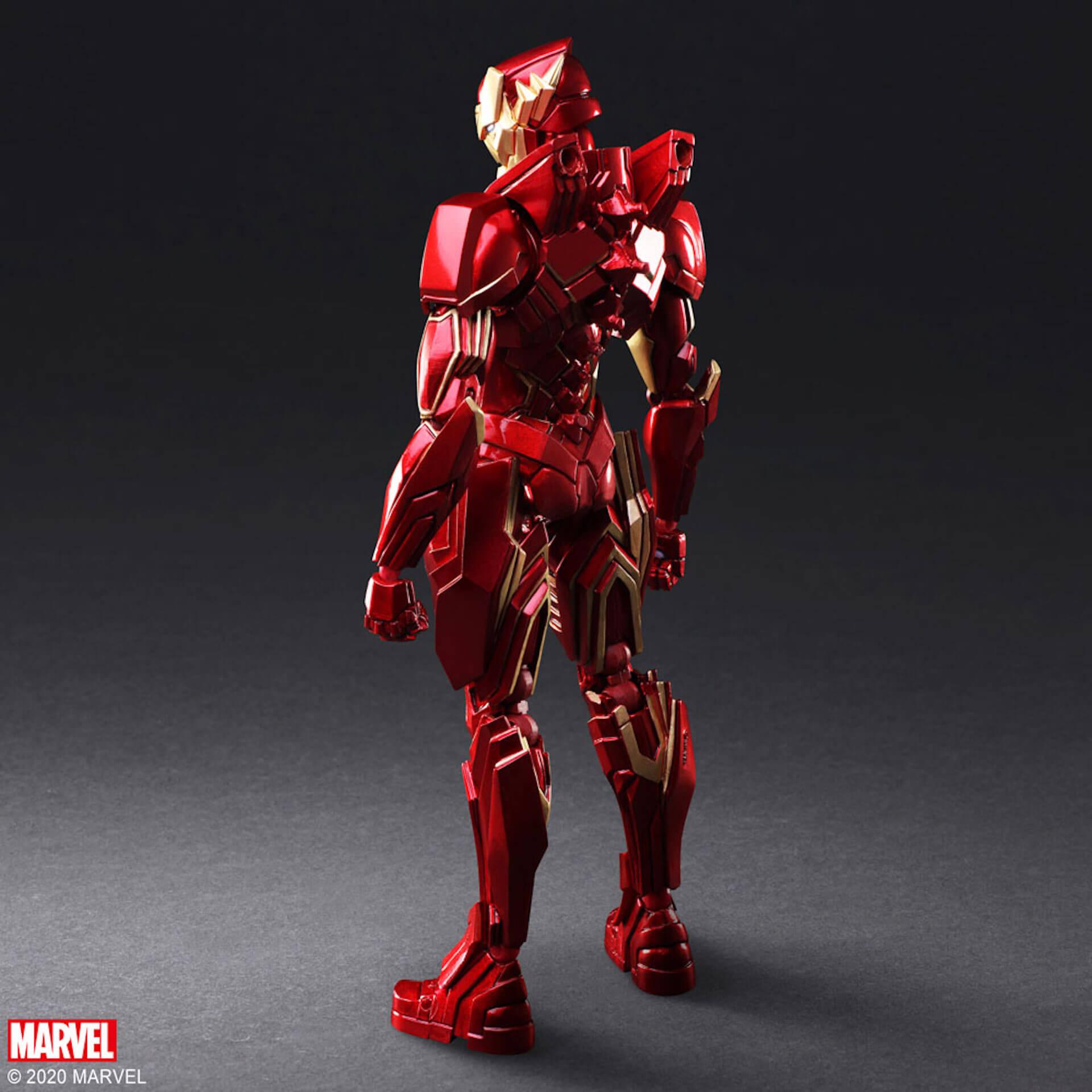 野村哲也デザインの『アイアンマン』『キャプテン・アメリカ』『スパイダーマン』フィギュアがスクウェア・エニックスのオンラインサイトで予約受付中! ac200702_marvel_nomuratesuya_02