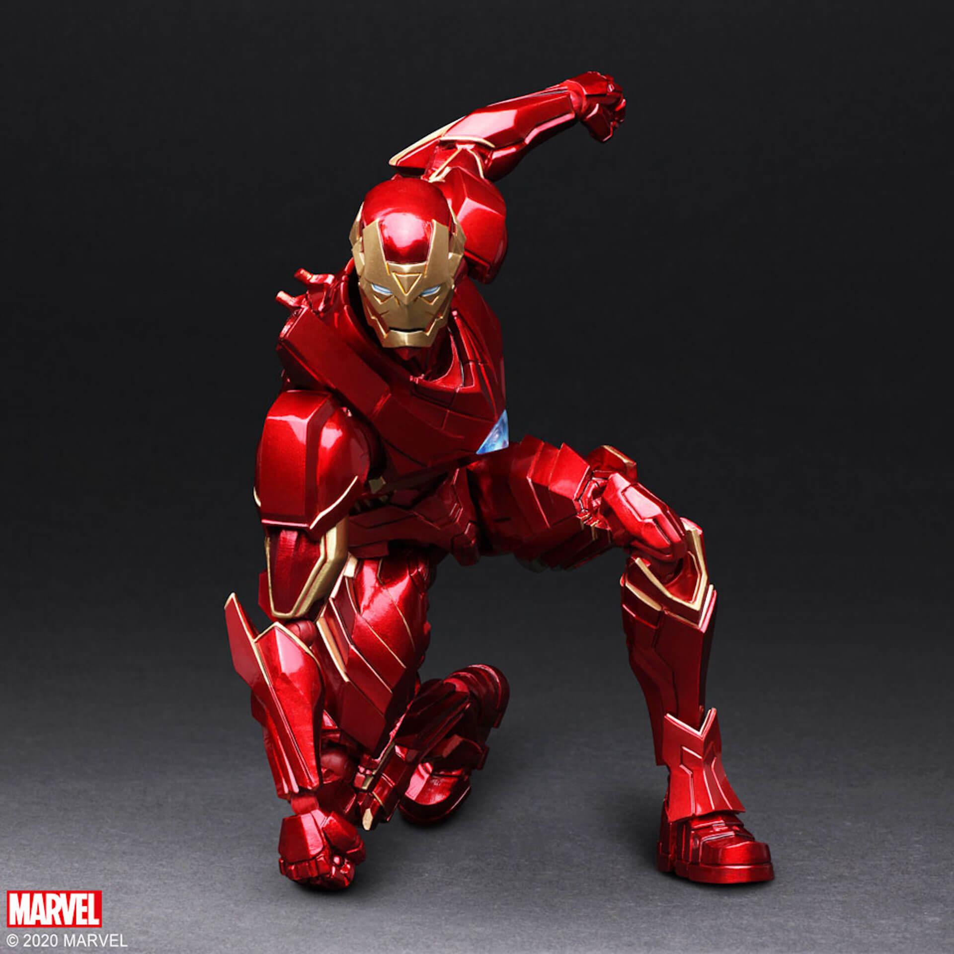 野村哲也デザインの『アイアンマン』『キャプテン・アメリカ』『スパイダーマン』フィギュアがスクウェア・エニックスのオンラインサイトで予約受付中! ac200702_marvel_nomuratesuya_03
