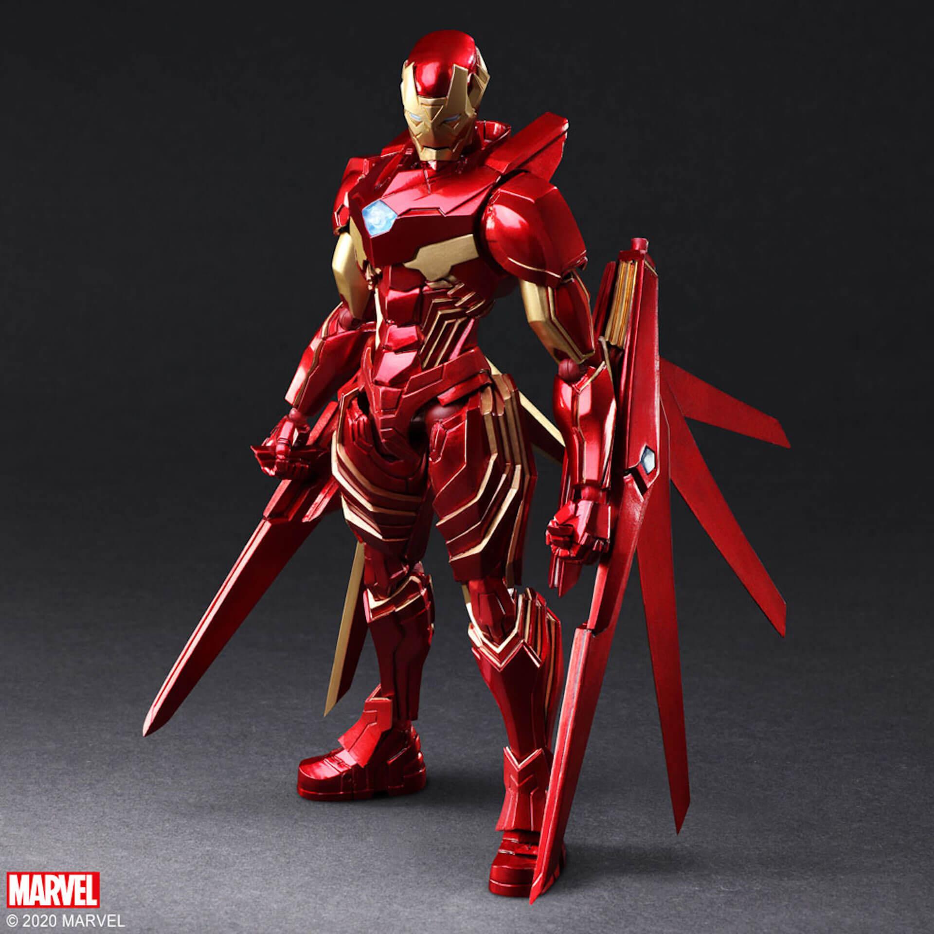 野村哲也デザインの『アイアンマン』『キャプテン・アメリカ』『スパイダーマン』フィギュアがスクウェア・エニックスのオンラインサイトで予約受付中! ac200702_marvel_nomuratesuya_04