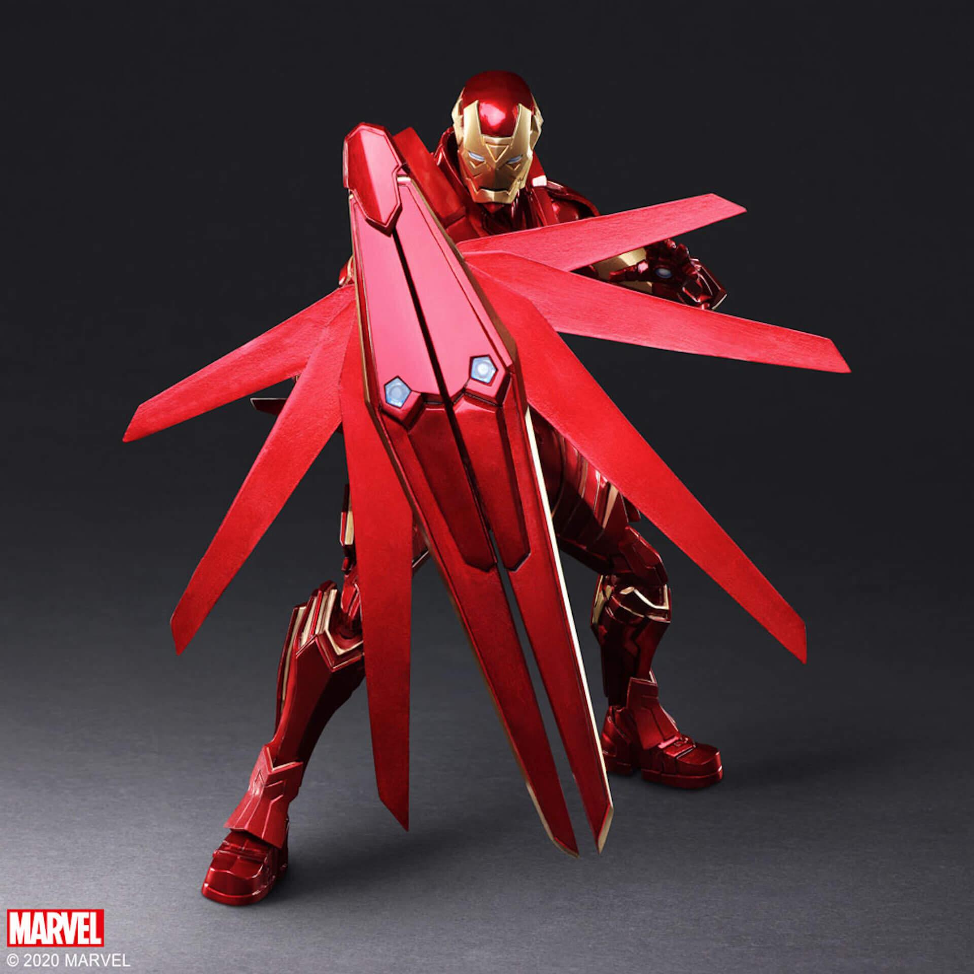 野村哲也デザインの『アイアンマン』『キャプテン・アメリカ』『スパイダーマン』フィギュアがスクウェア・エニックスのオンラインサイトで予約受付中! ac200702_marvel_nomuratesuya_05