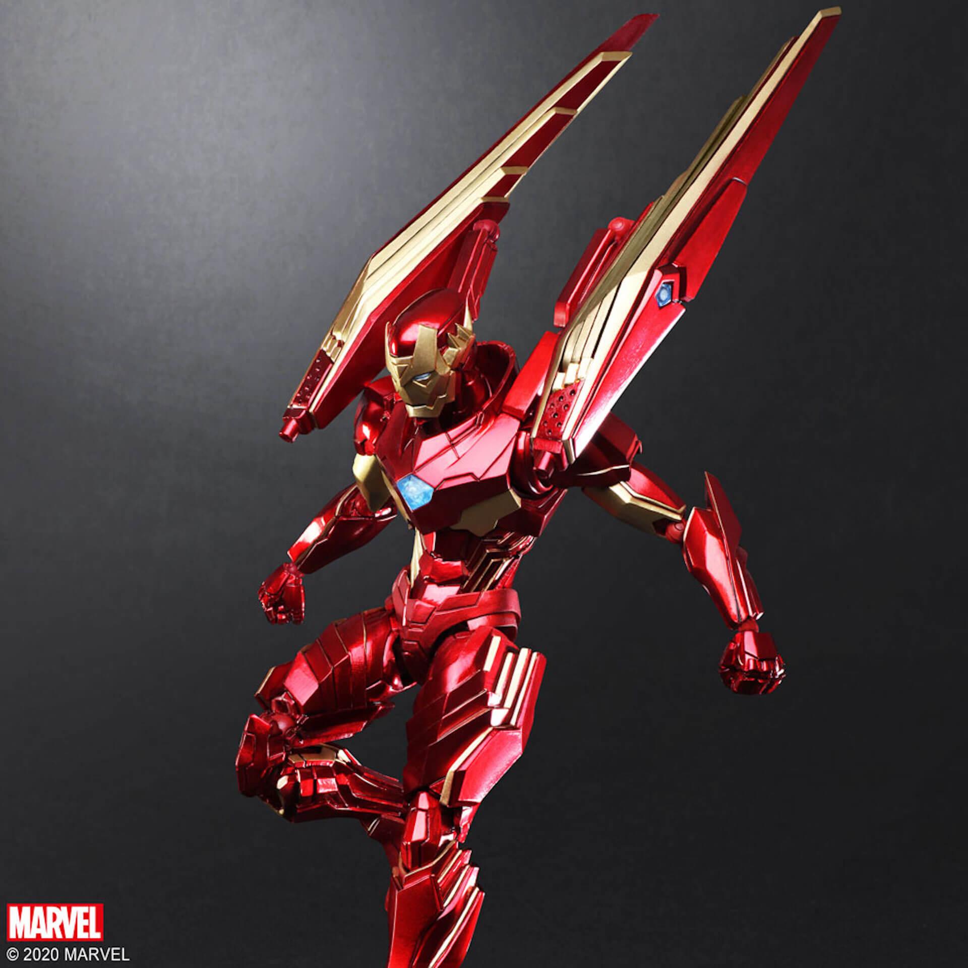 野村哲也デザインの『アイアンマン』『キャプテン・アメリカ』『スパイダーマン』フィギュアがスクウェア・エニックスのオンラインサイトで予約受付中! ac200702_marvel_nomuratesuya_06
