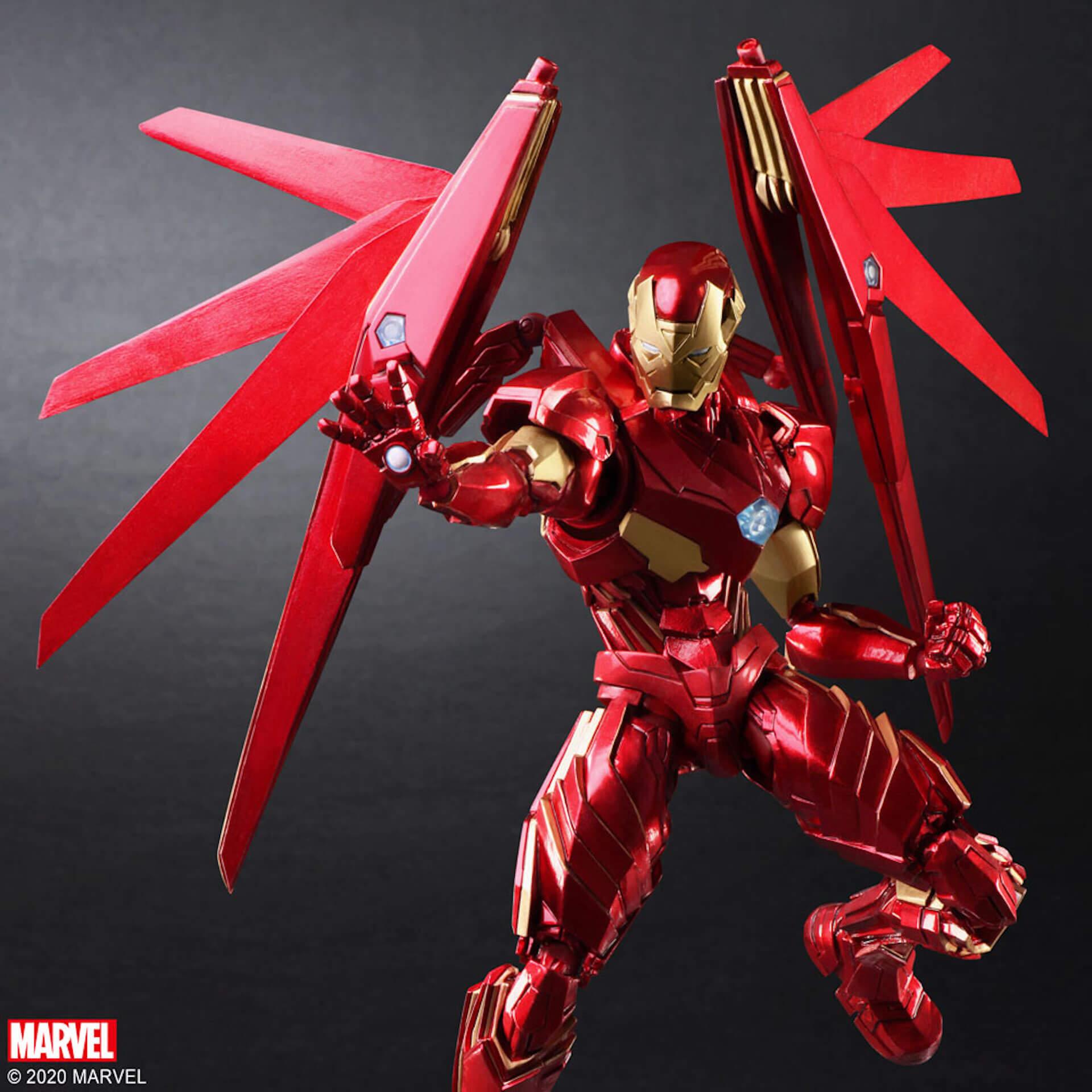 野村哲也デザインの『アイアンマン』『キャプテン・アメリカ』『スパイダーマン』フィギュアがスクウェア・エニックスのオンラインサイトで予約受付中! ac200702_marvel_nomuratesuya_07