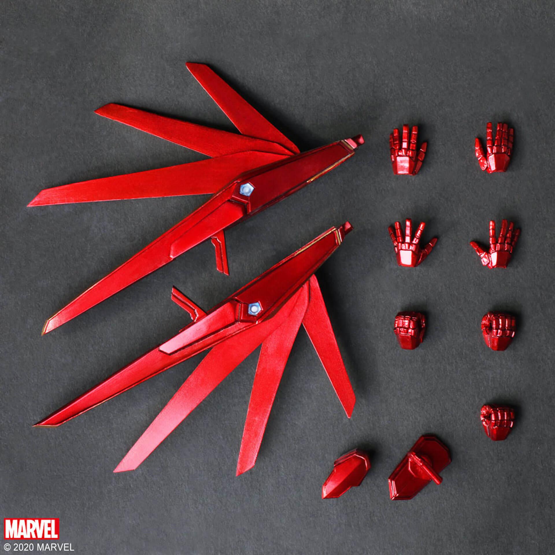 野村哲也デザインの『アイアンマン』『キャプテン・アメリカ』『スパイダーマン』フィギュアがスクウェア・エニックスのオンラインサイトで予約受付中! ac200702_marvel_nomuratesuya_08
