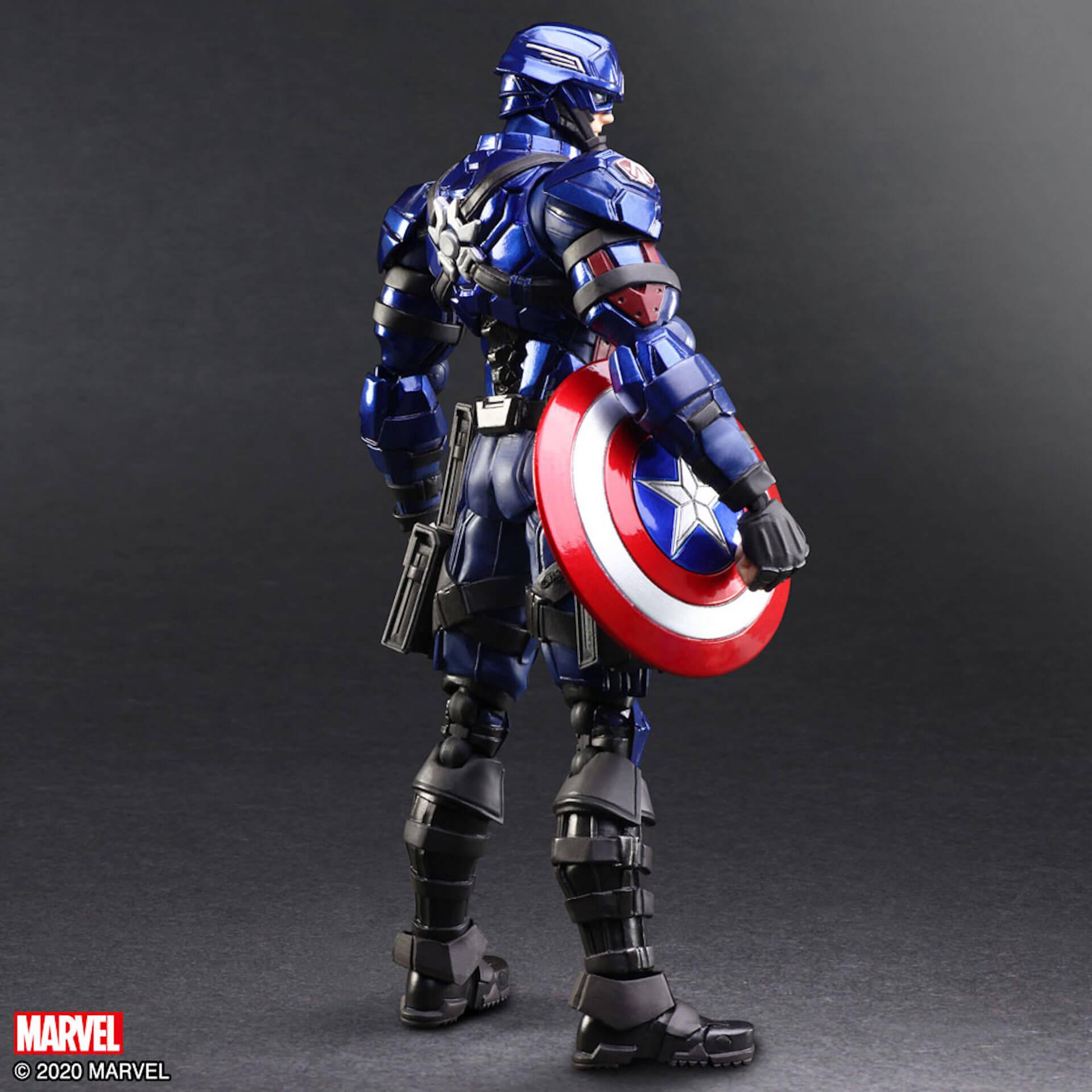 野村哲也デザインの『アイアンマン』『キャプテン・アメリカ』『スパイダーマン』フィギュアがスクウェア・エニックスのオンラインサイトで予約受付中! ac200702_marvel_nomuratesuya_11