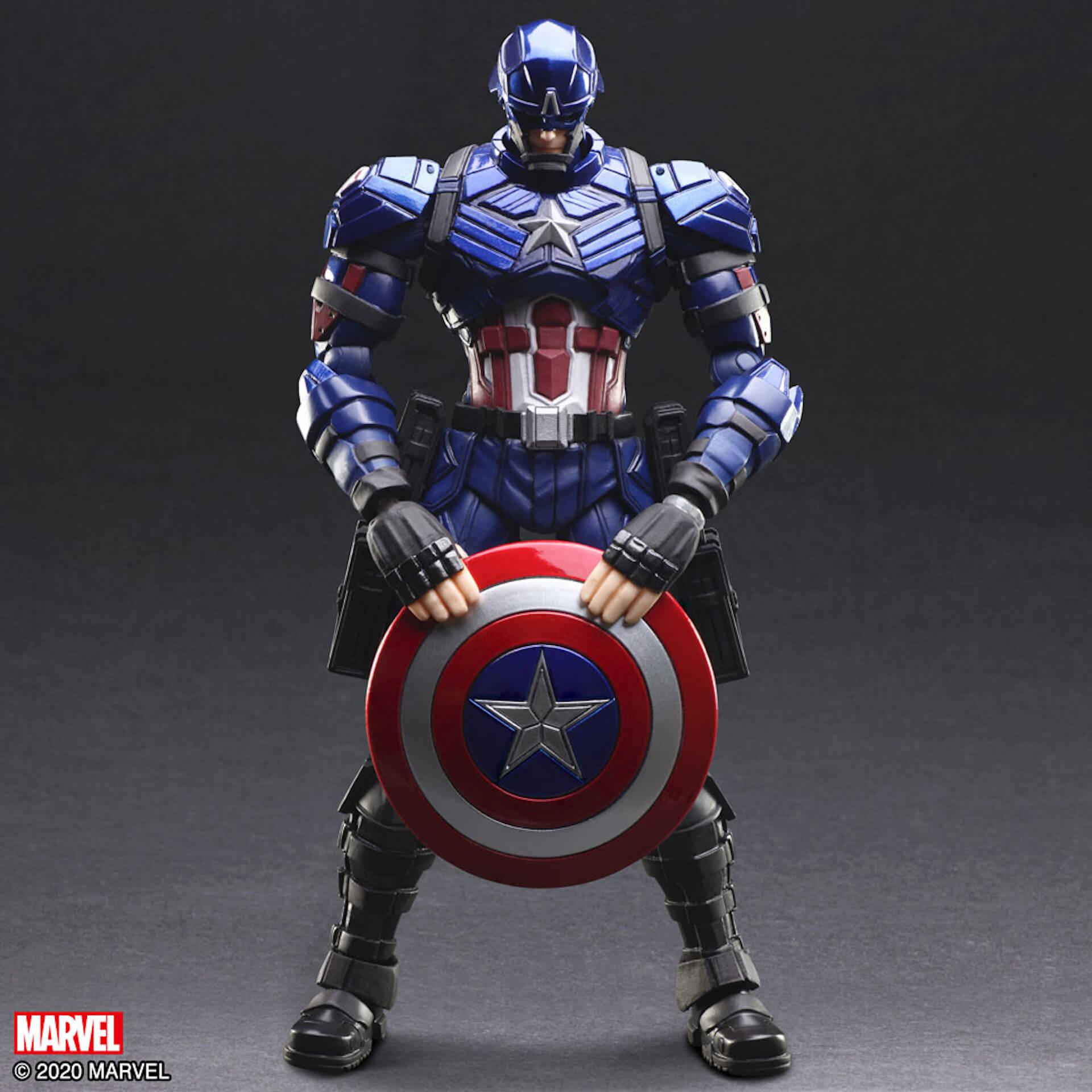 野村哲也デザインの『アイアンマン』『キャプテン・アメリカ』『スパイダーマン』フィギュアがスクウェア・エニックスのオンラインサイトで予約受付中! ac200702_marvel_nomuratesuya_12