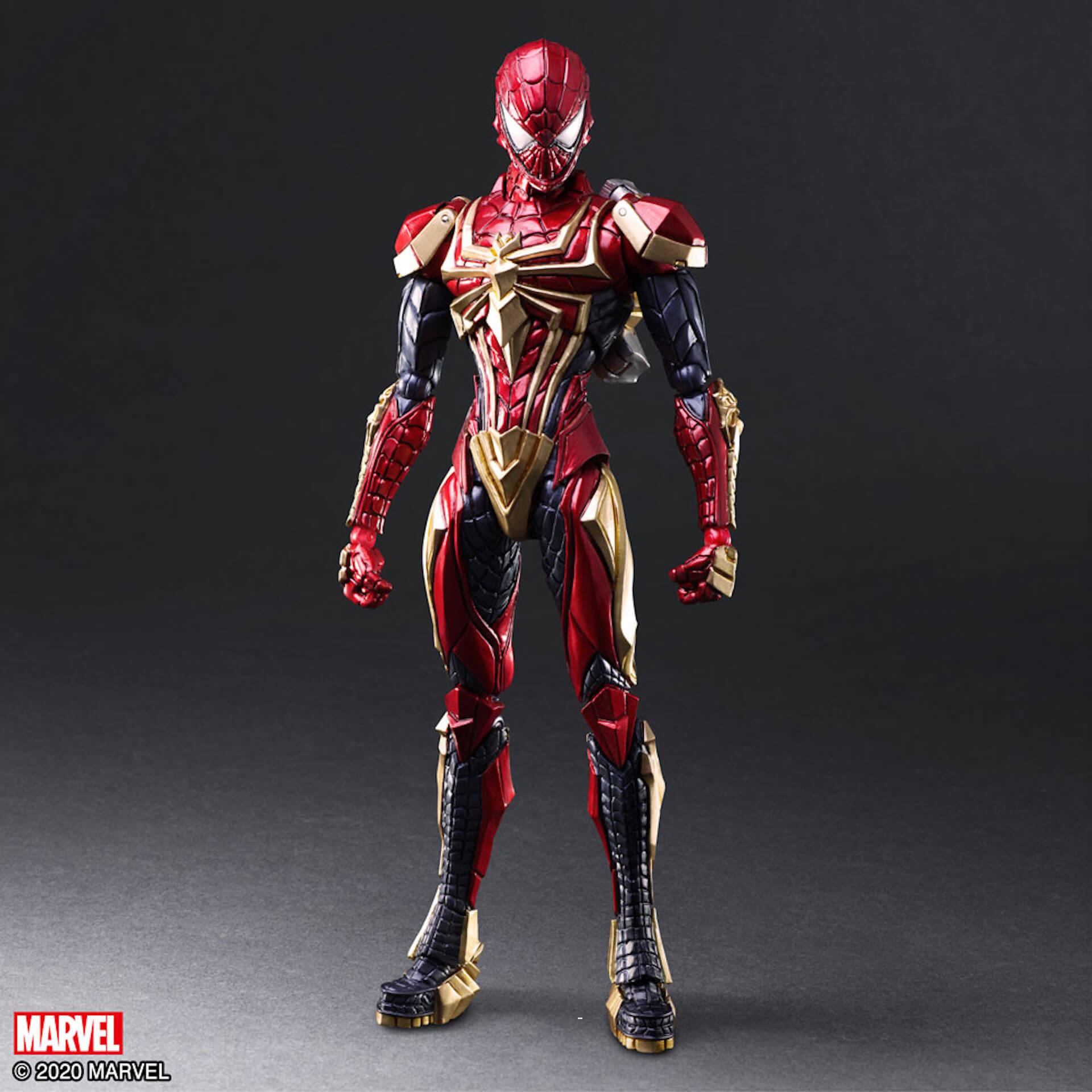 野村哲也デザインの『アイアンマン』『キャプテン・アメリカ』『スパイダーマン』フィギュアがスクウェア・エニックスのオンラインサイトで予約受付中! ac200702_marvel_nomuratesuya_18