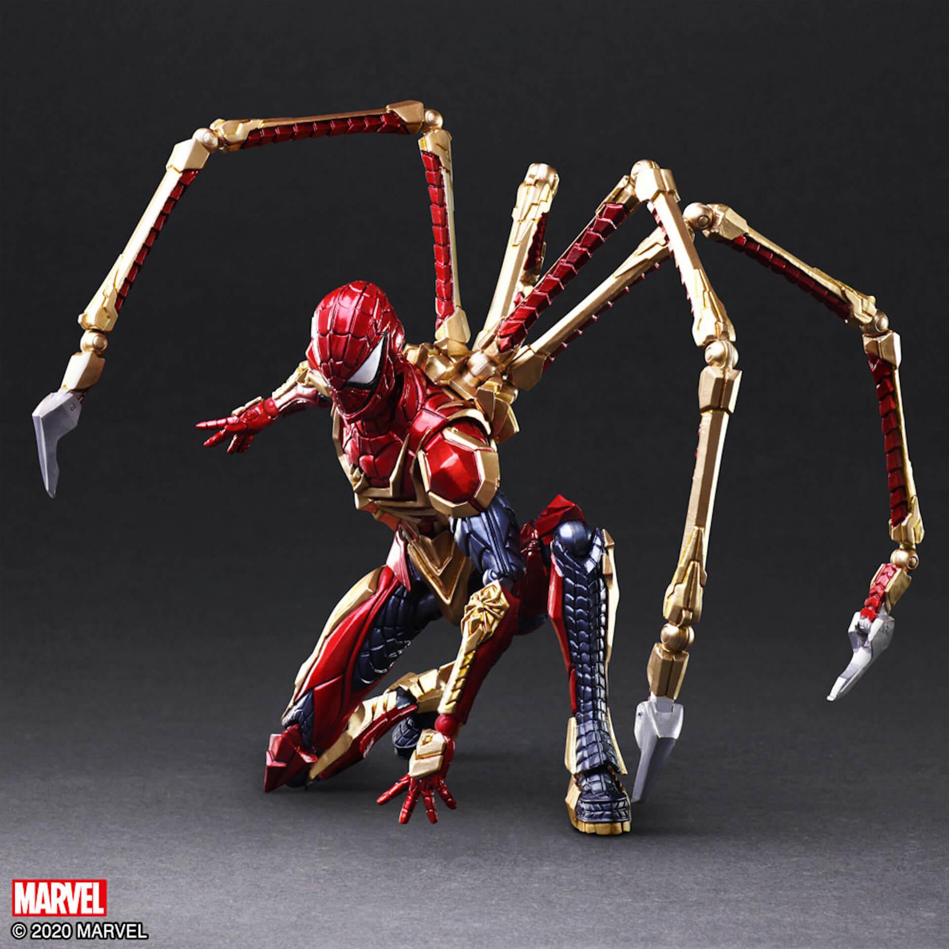 野村哲也デザインの『アイアンマン』『キャプテン・アメリカ』『スパイダーマン』フィギュアがスクウェア・エニックスのオンラインサイトで予約受付中! ac200702_marvel_nomuratesuya_20